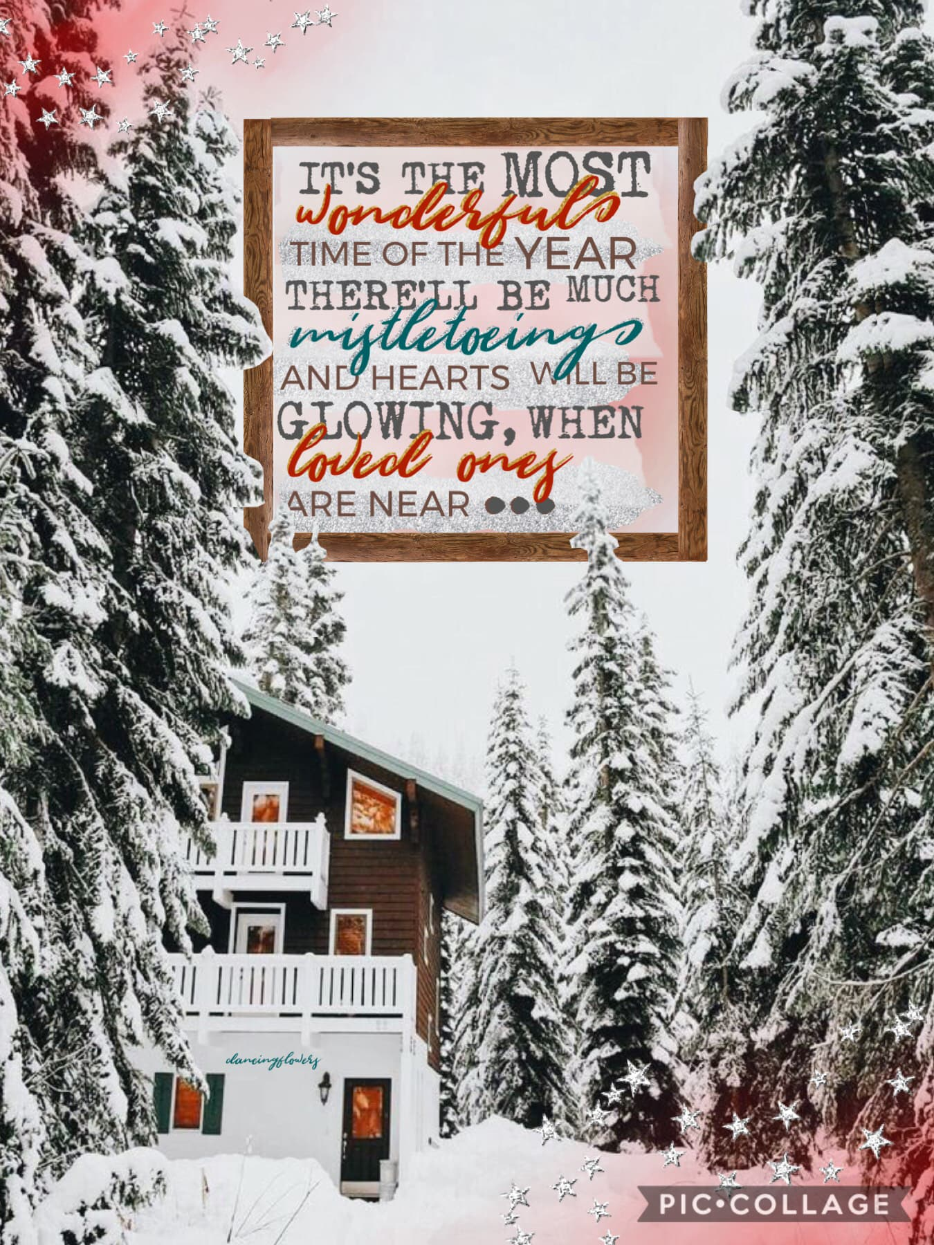 🥰tap🥰 my first collage in a while, not too early for Christmas is it? 😂 also, I am so happy with the new fonts, they are perfect and just what me and many other PicCollagers asked for! What are you all doing for Christmas? 🎄😊