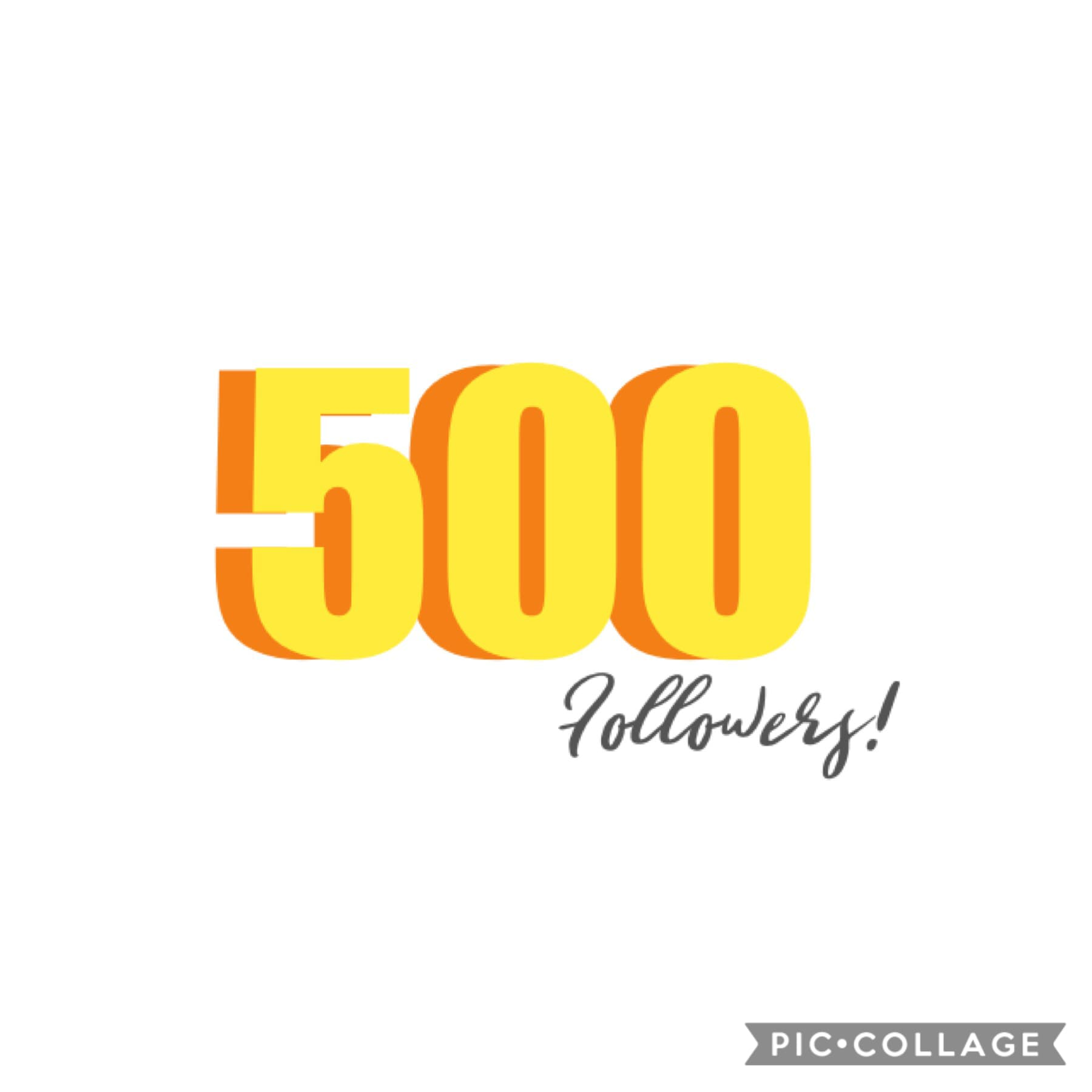 Thank u so much for 500! I love everyone one of you so much and I'm so thankful! 🥰