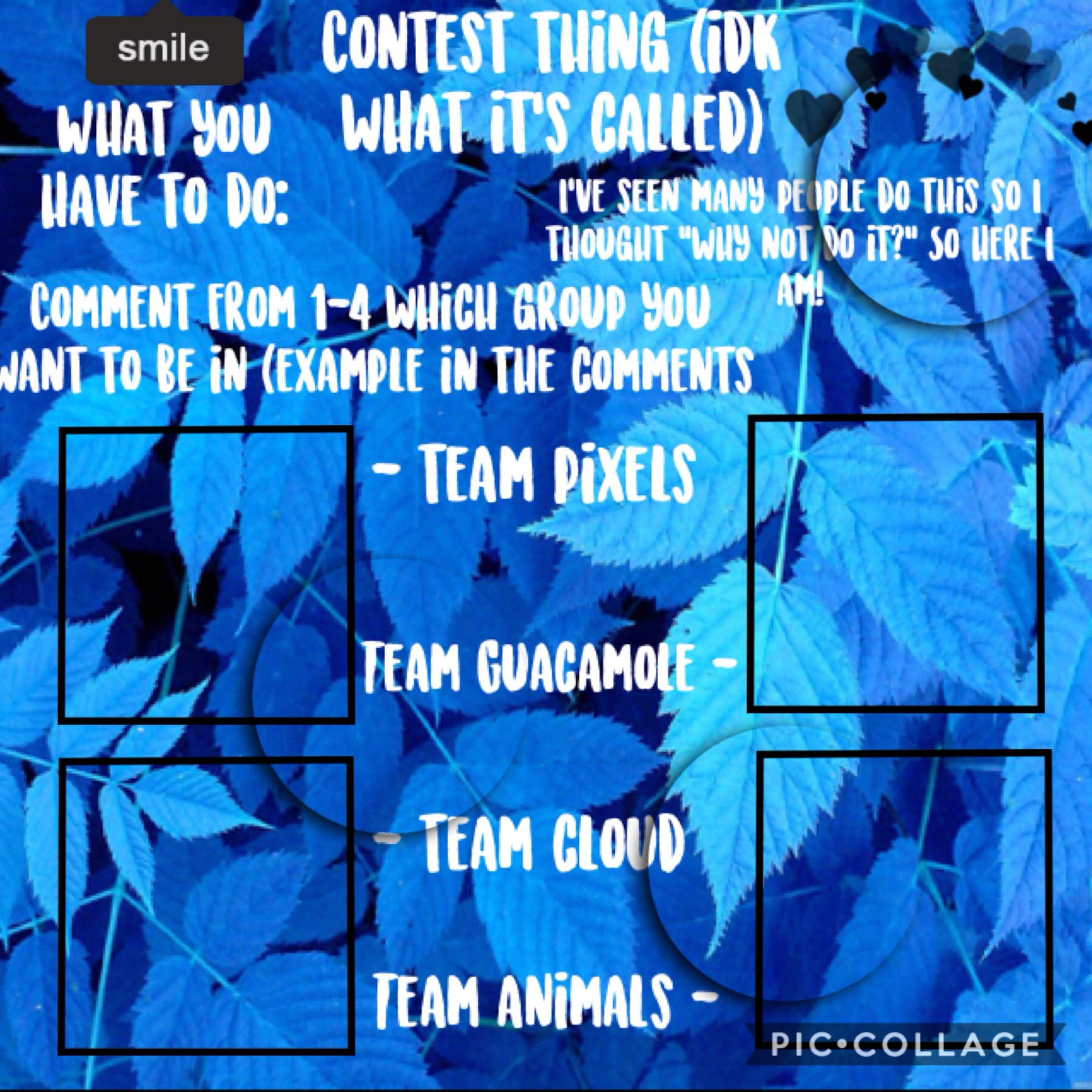 I need more people! So if you haven't joined please do! 3 people in each team once full I'll post the 1st challenge ~ Tik Tok Time