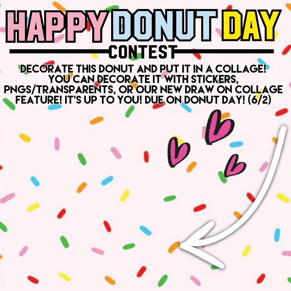 Donut Contest!