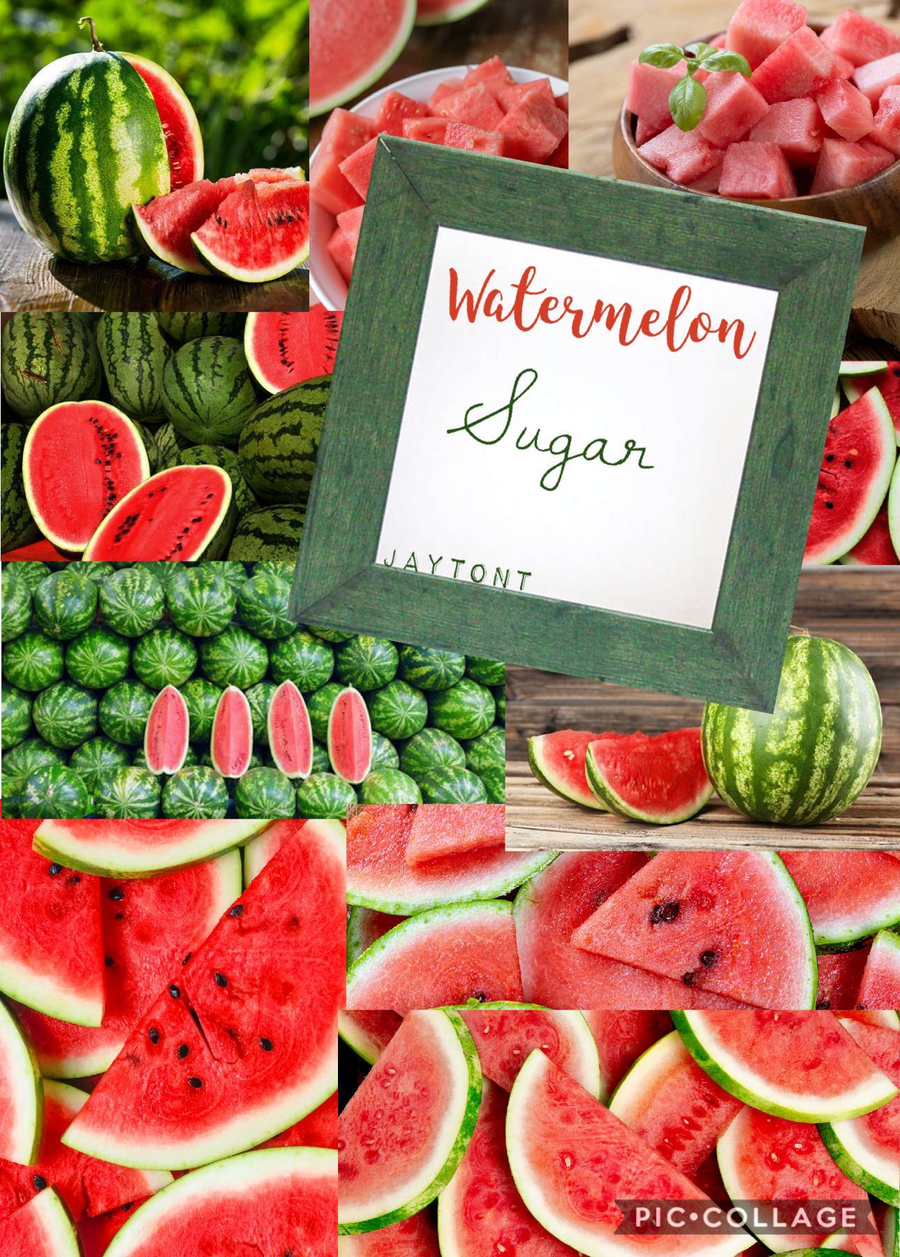 🍉TAP🍉 Qutd: what is ur favorite fruit  Aotd: watermelon 🍉