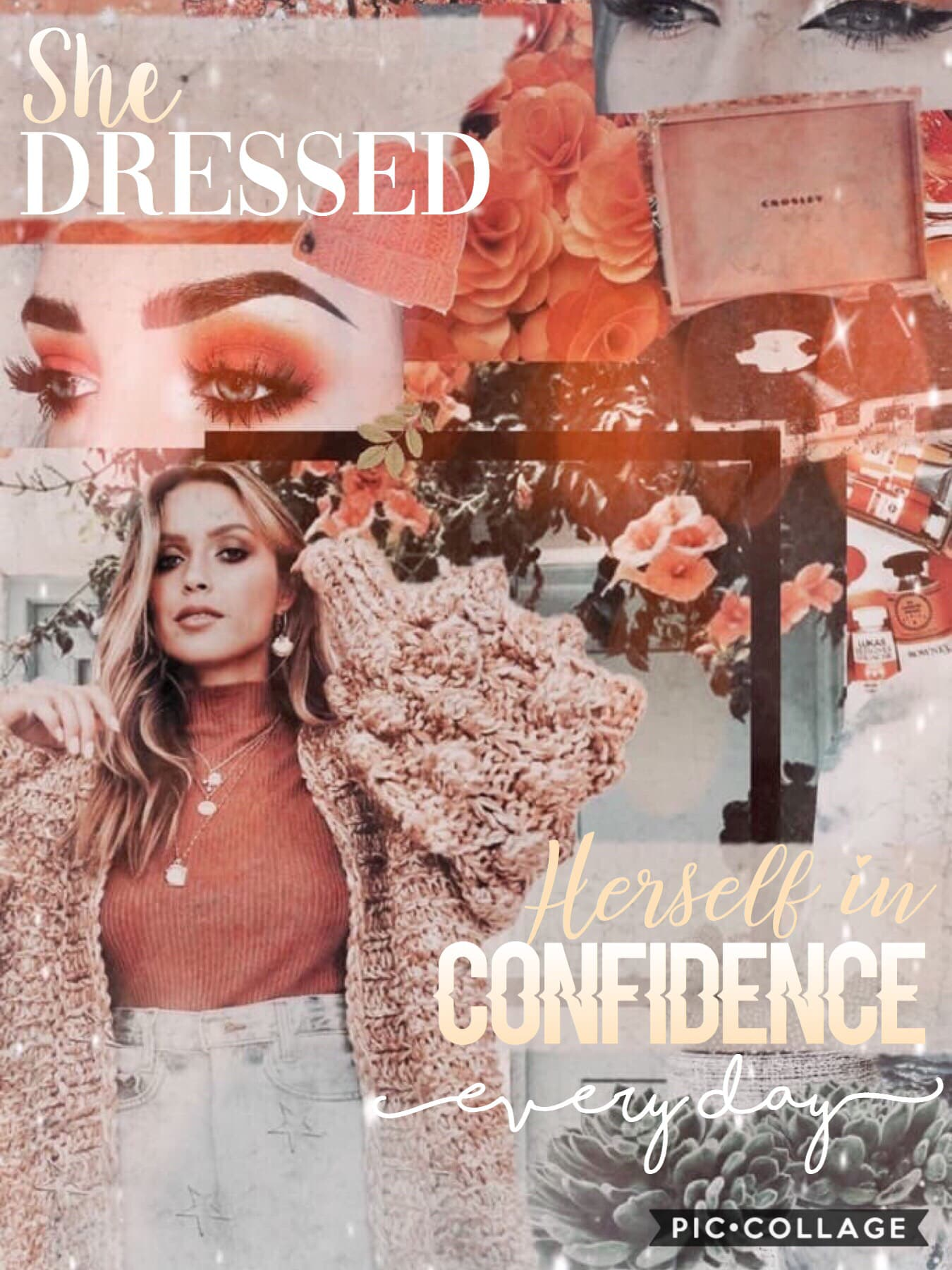 Collab with🥁 xXstardustXx she is super kind and sweet her collages are amazing go follow her!!⚡️🌻💛💕