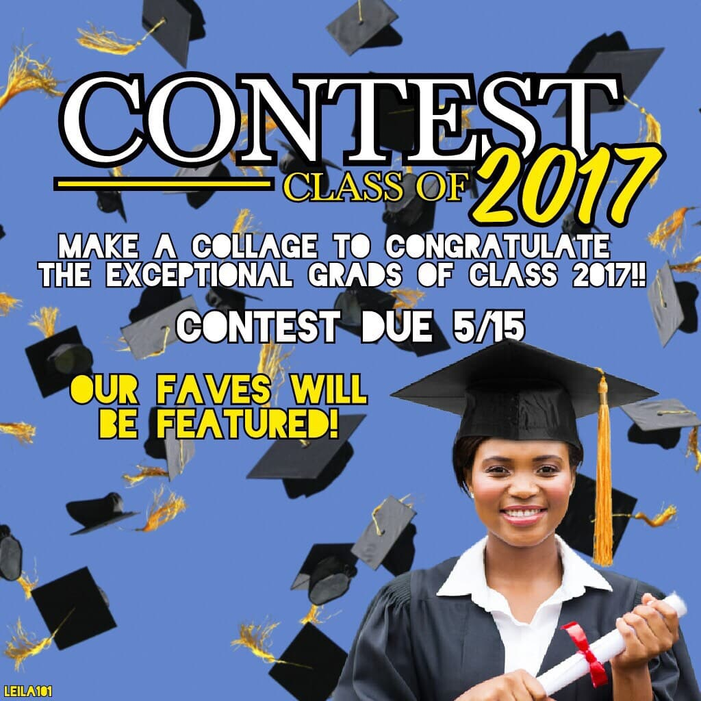 Graduation Contest!