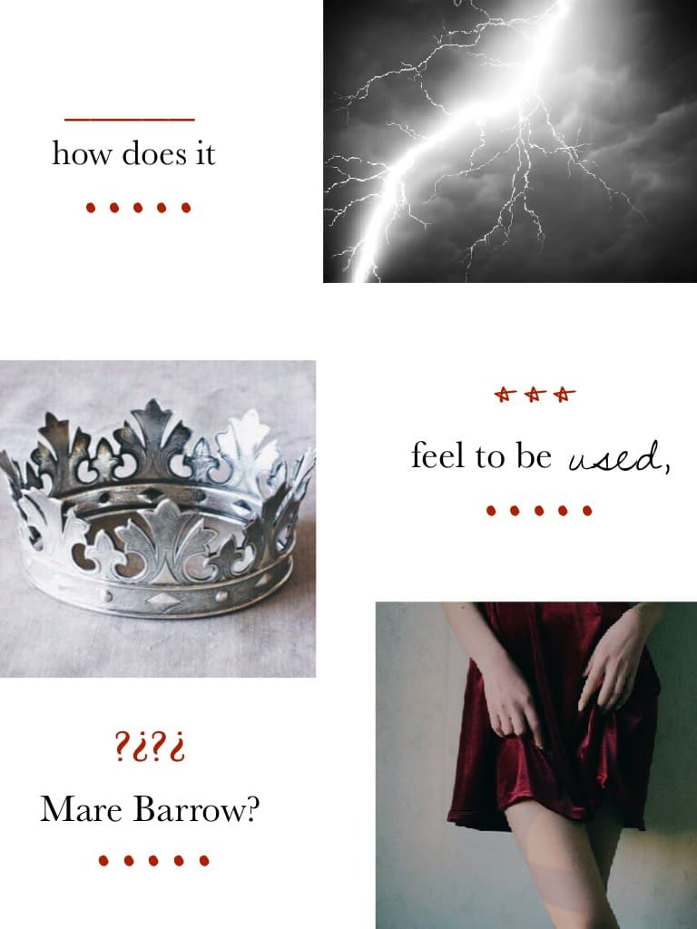 red queen collage❤️