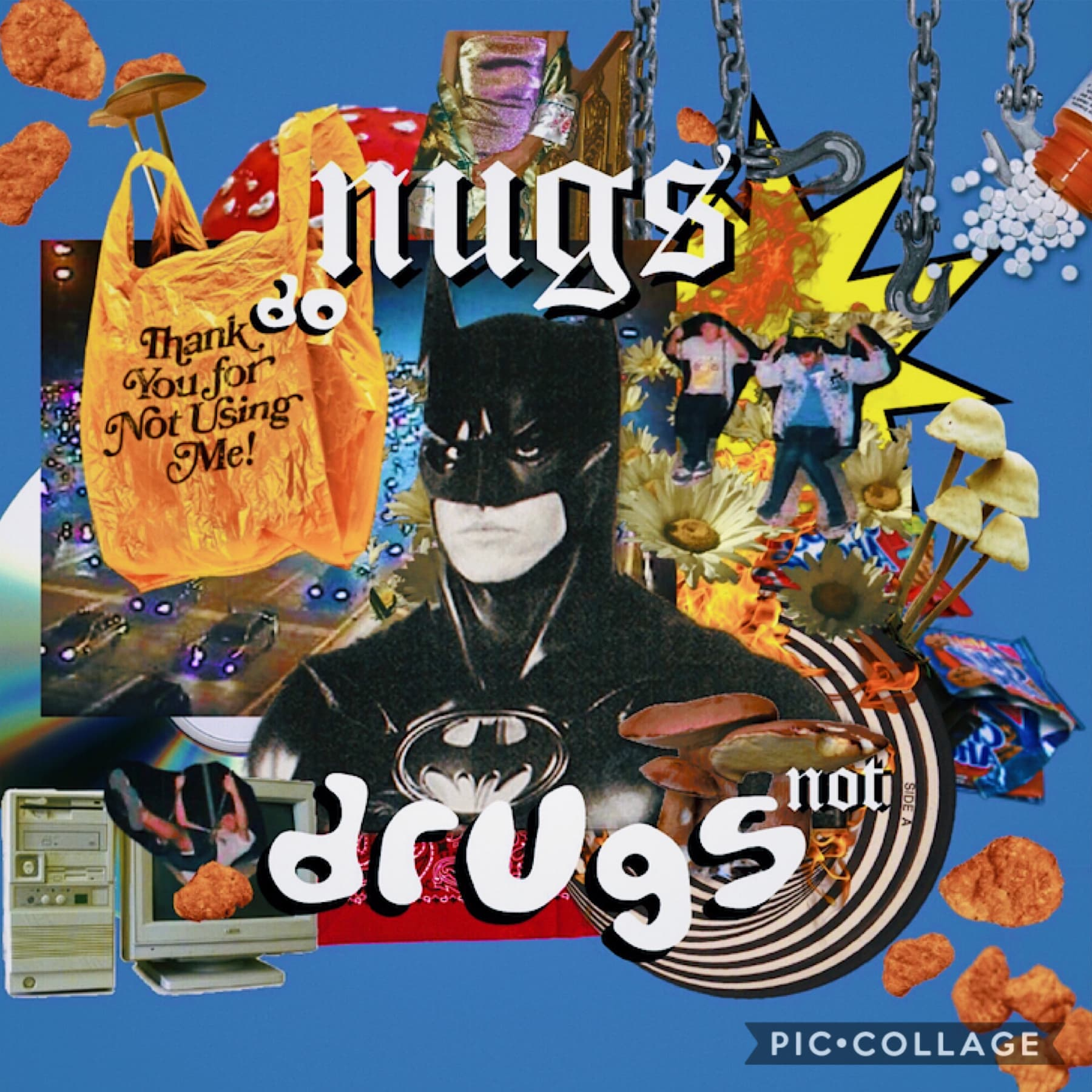 """🍗  """"do nugs not drugs"""" kids 😠  oy NUGGET FAM (yk who u are) SHARE PLS  👉👈 help out a fellow cult member 👉👈  kind of a new vibe🥴"""