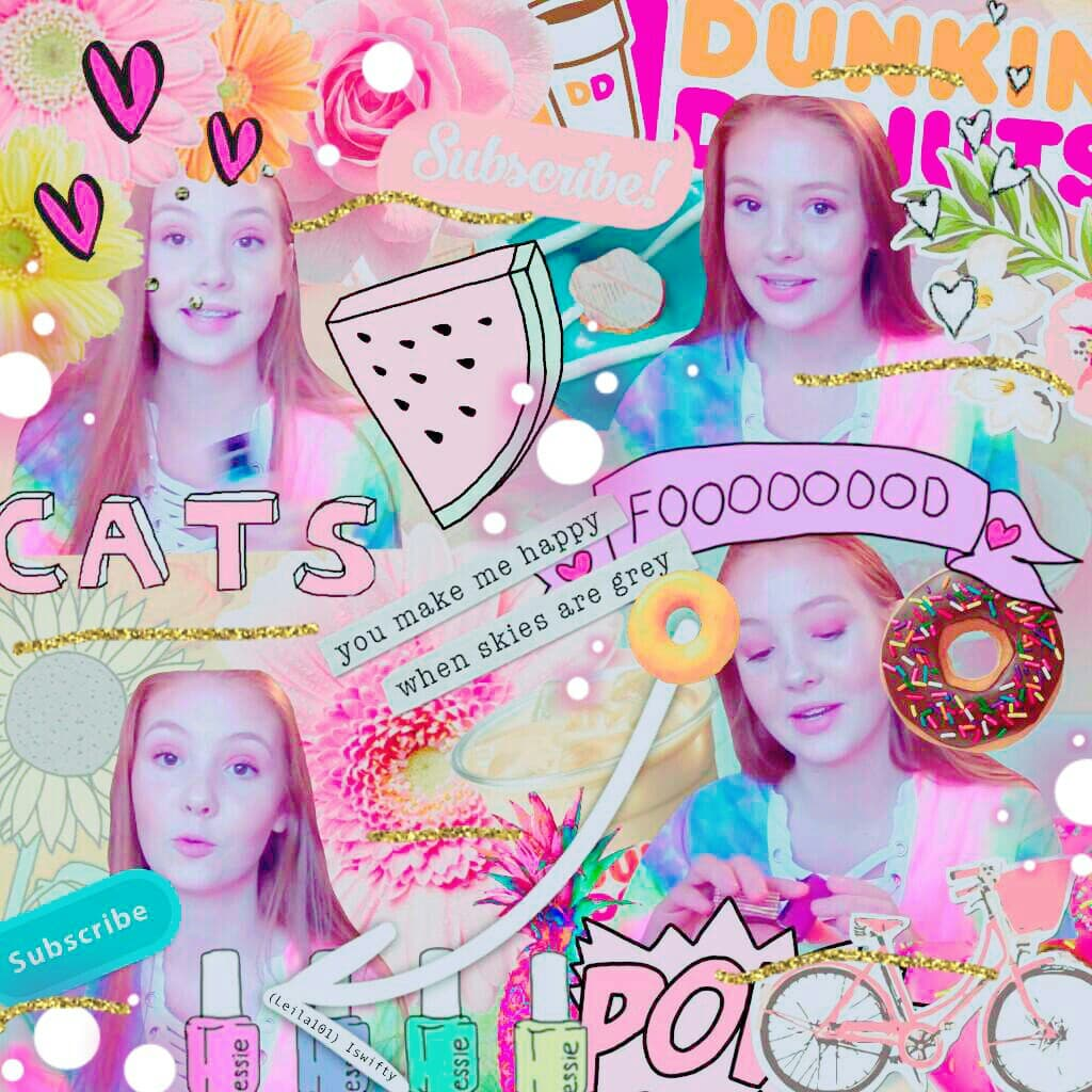 HOLY GRAILS ♥ | Samone Victoria (on YouTube)   Made by Leila101! 💕 😁 tags: almost Pconly lol collage YouTube pastel Pink cute yoursassylife SamoneVictoria love food donuts cute glitter stickers hearts