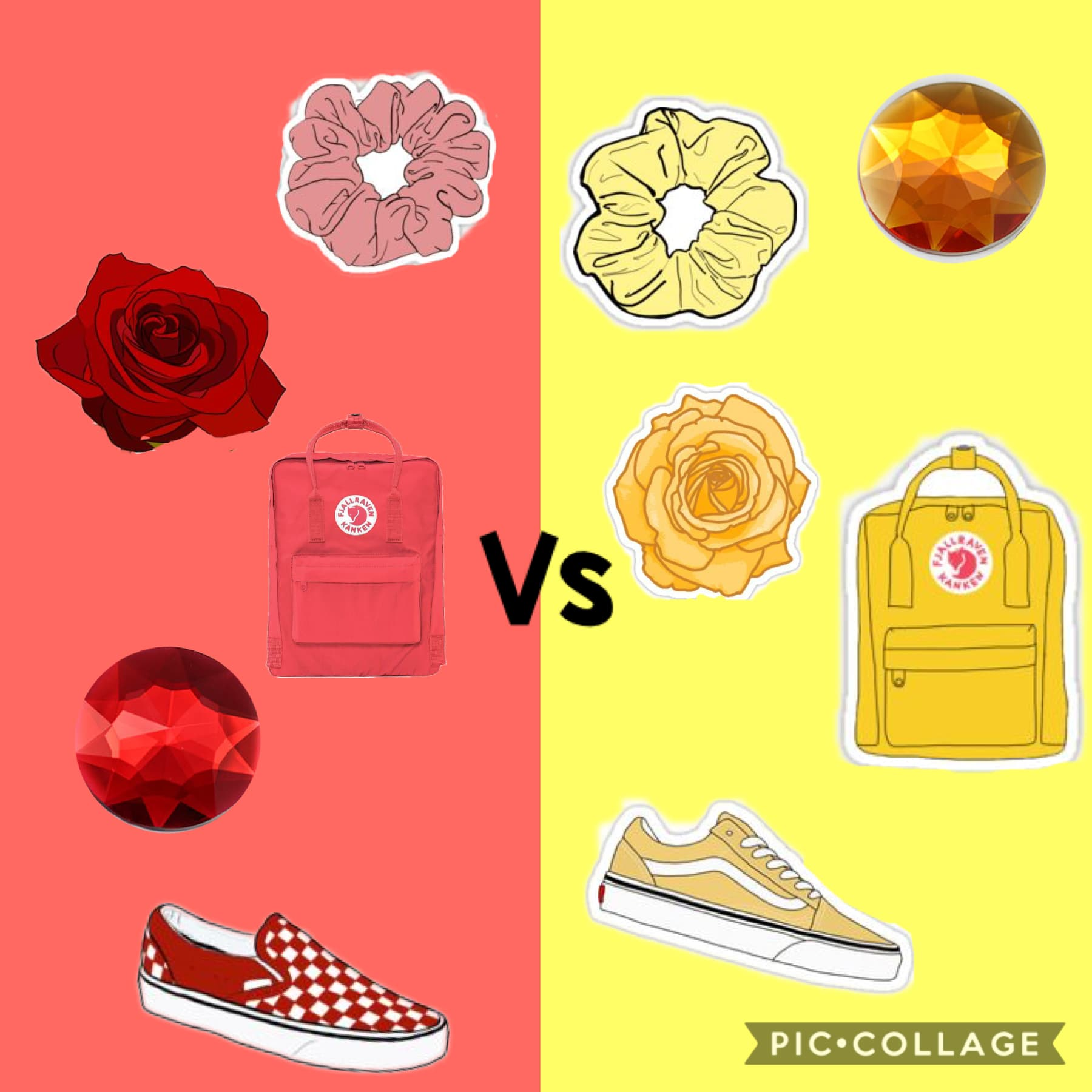 Another one of these ... which one do u prefer? Red or yellow?  ❤️🎈🍎🌹💛✨🌼🌻⭐️