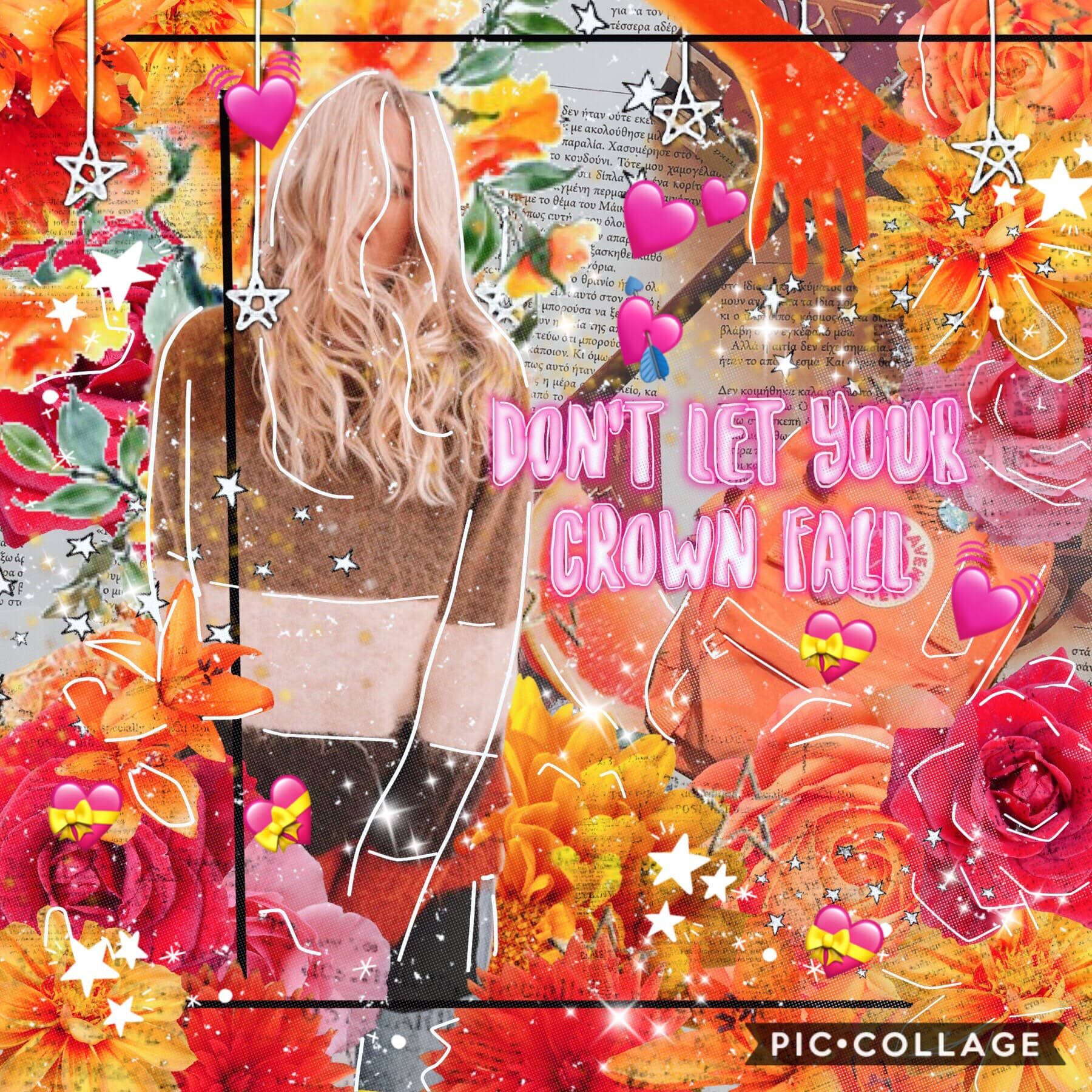 Tappy-  First collageeee 🙉💗🧡 Hope u guys like it