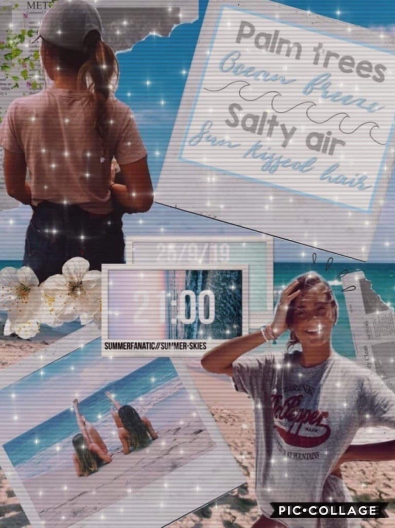 🌊COLLAB WITH...🌊  The amazing SummerFanatic! Go follow her she's so nice!!💓Her collages are incredible!