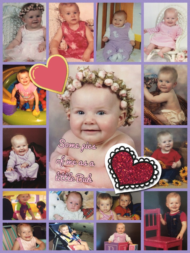 Some pics of me as a little Bub