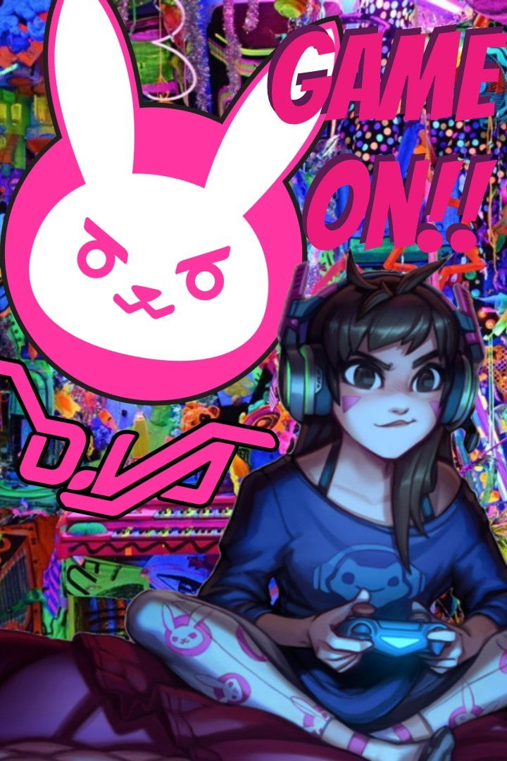 Game on!! Dva is cool
