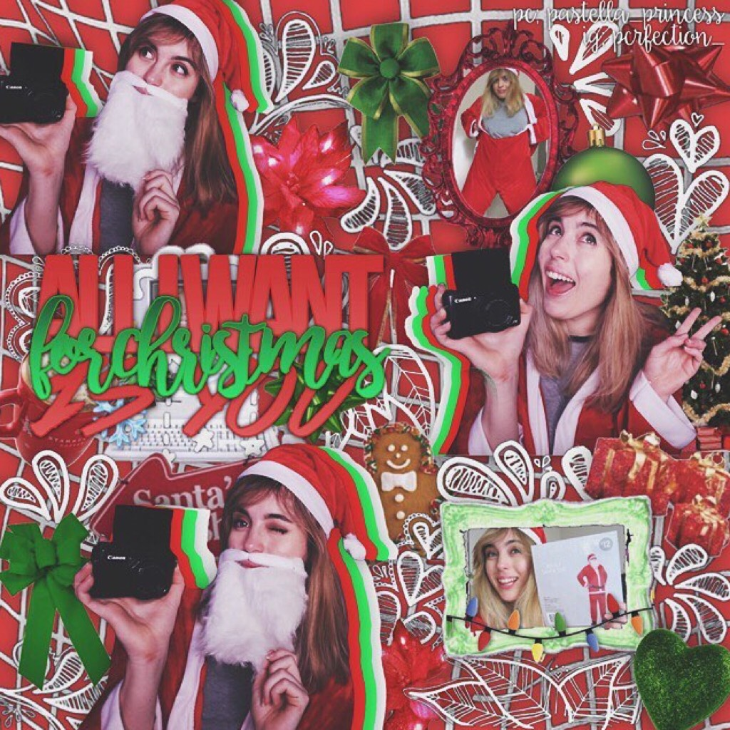merry pringles ya beautiful people! go open your presents and spend time with your fam! i love and cherish you all! 💗🎄