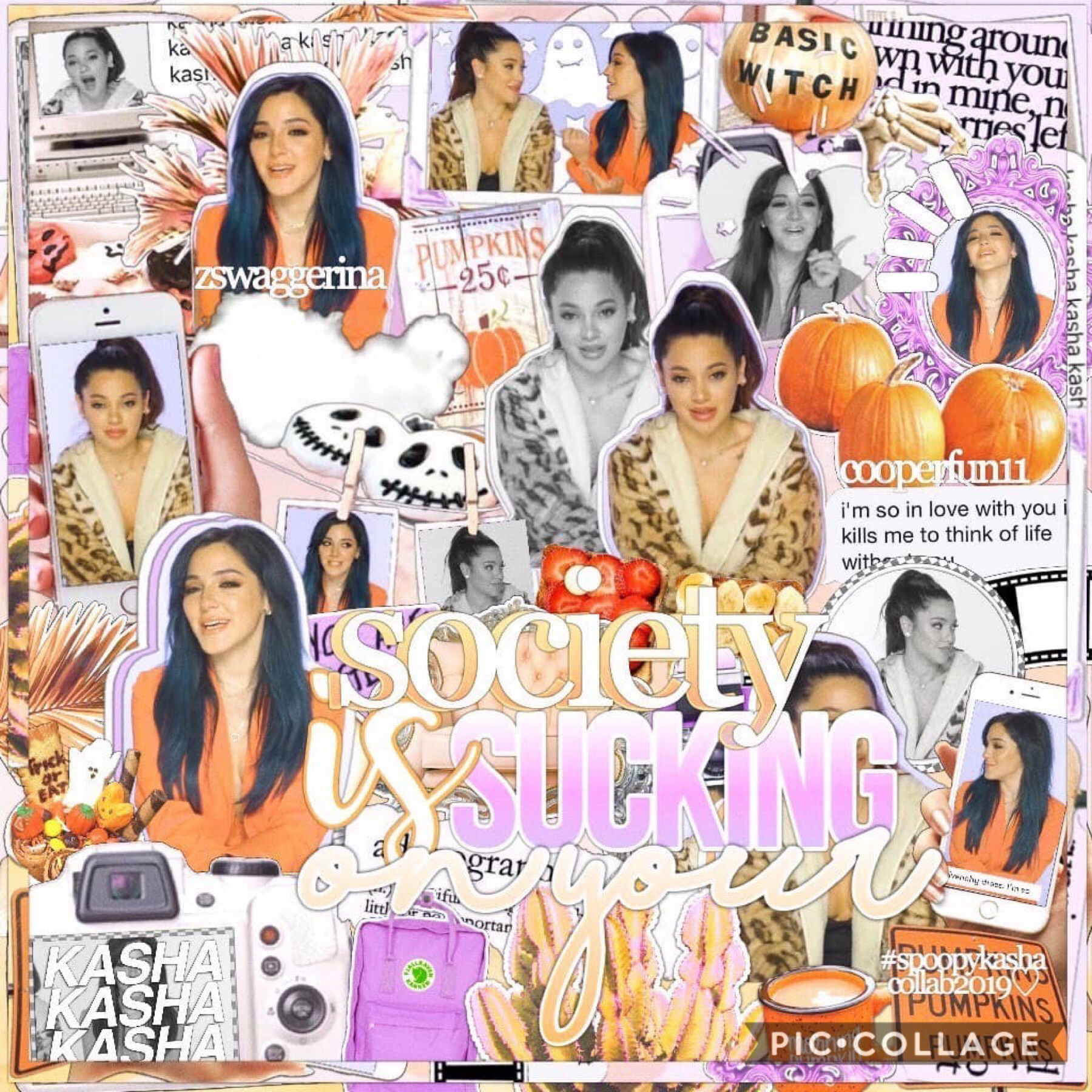 i love this so much 🥰 collab with my sissy @cooperfun11 (the gabi to my niki) 💜🧡 how are you guys ?