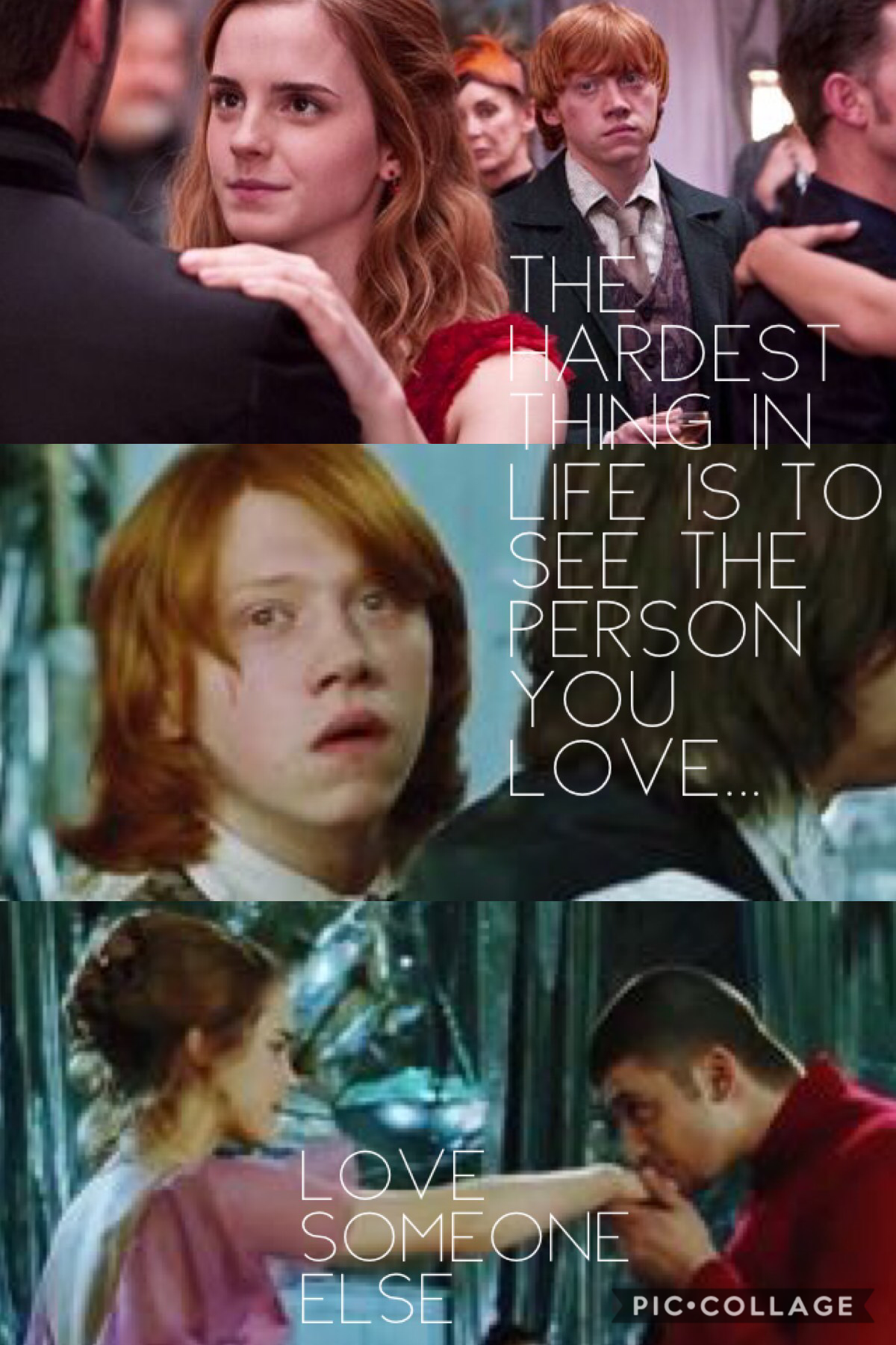Poor Ron... but then again poor Krum😬😫😍
