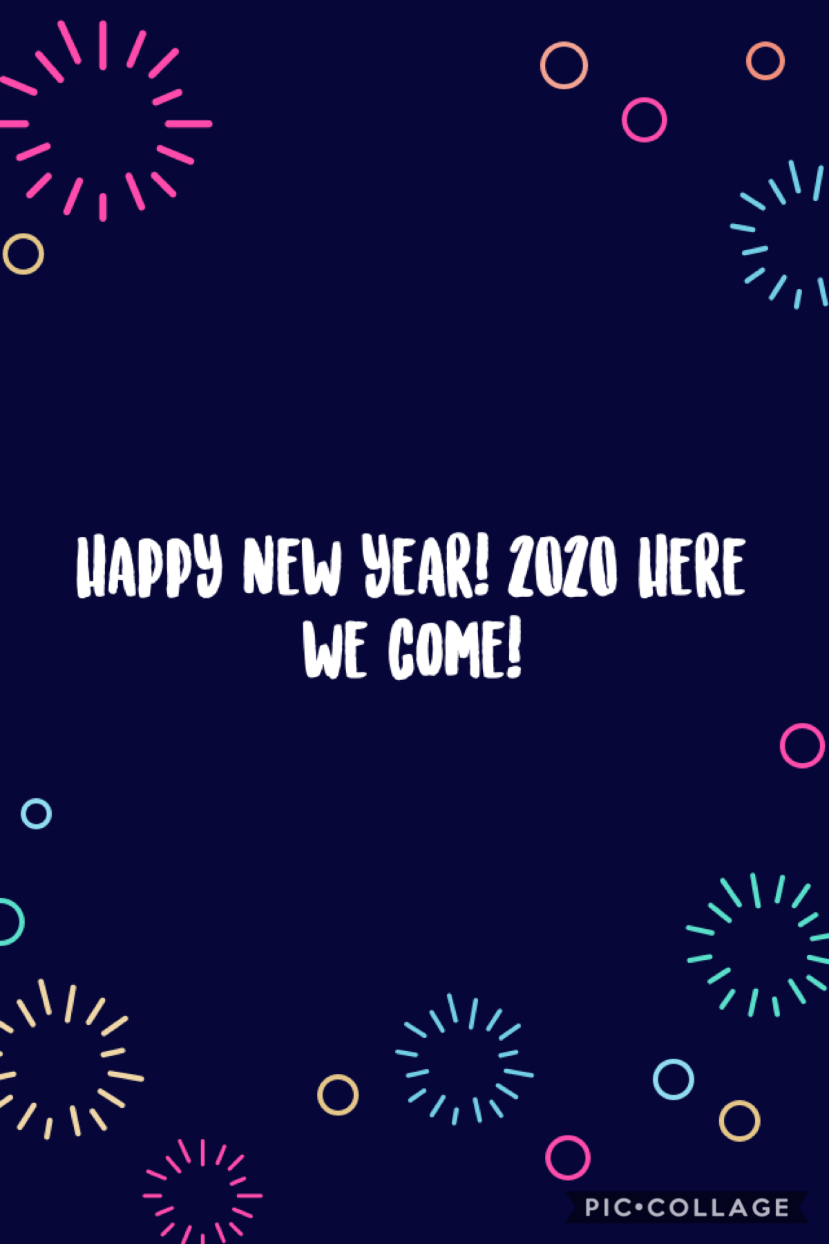 happy new year!! yayyyy 2020! party 🎉