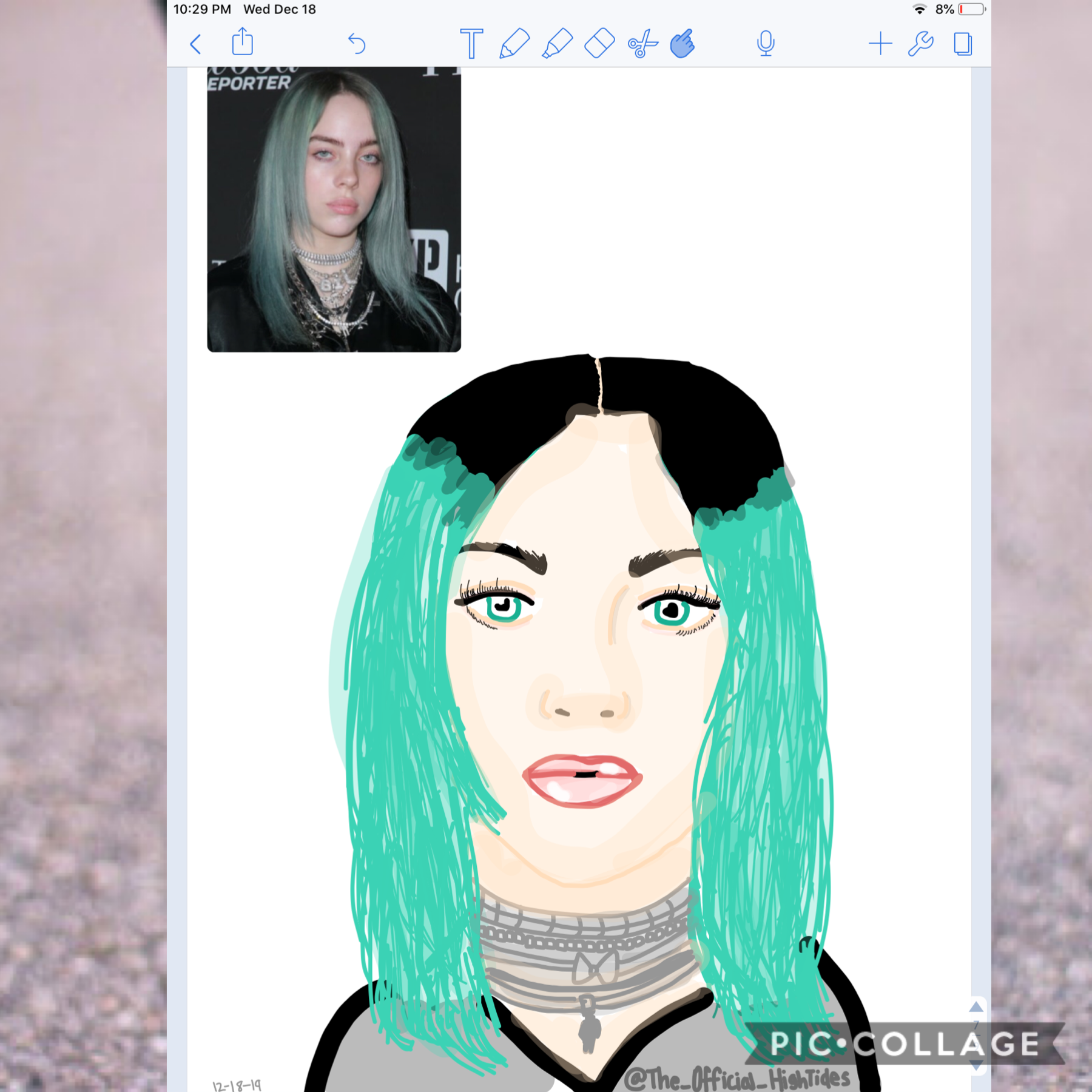 Pt.3💚 Ew this looks bad, sorry Billie fans! Also ik I need work....🥺
