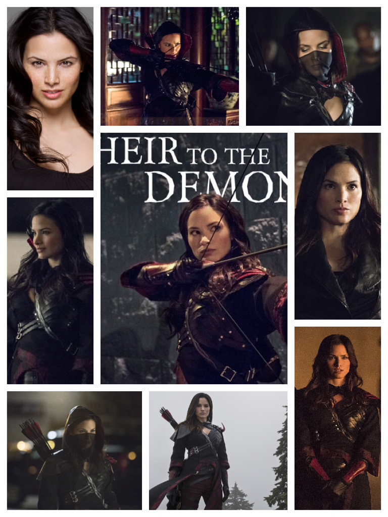 I am Nyssa daughter of Ra's Al Ghul, heir to the demon