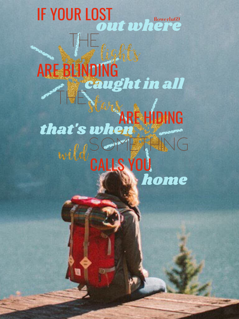 Lyrics from Something Wild. I watched Moana and IT WAS SO SO SO GOOD!!! A movie you definitely need to watch. Starting QOTC. QOTC: How was your Christmas? Have a great day or night!
