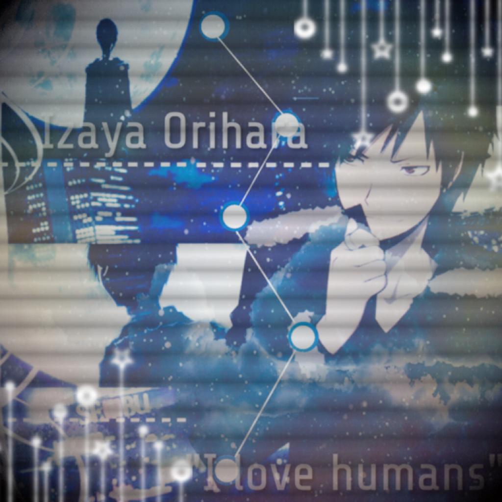 Izaya Orihara edit- don't know, I'm tired