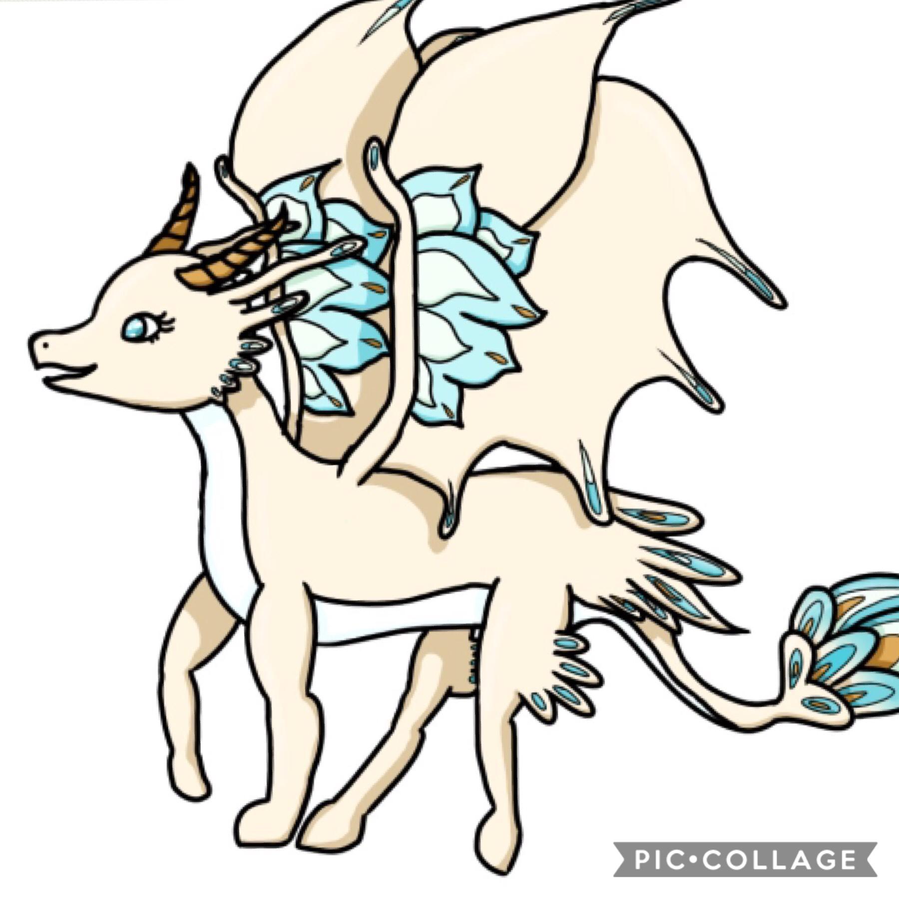 Dragon thing I drew