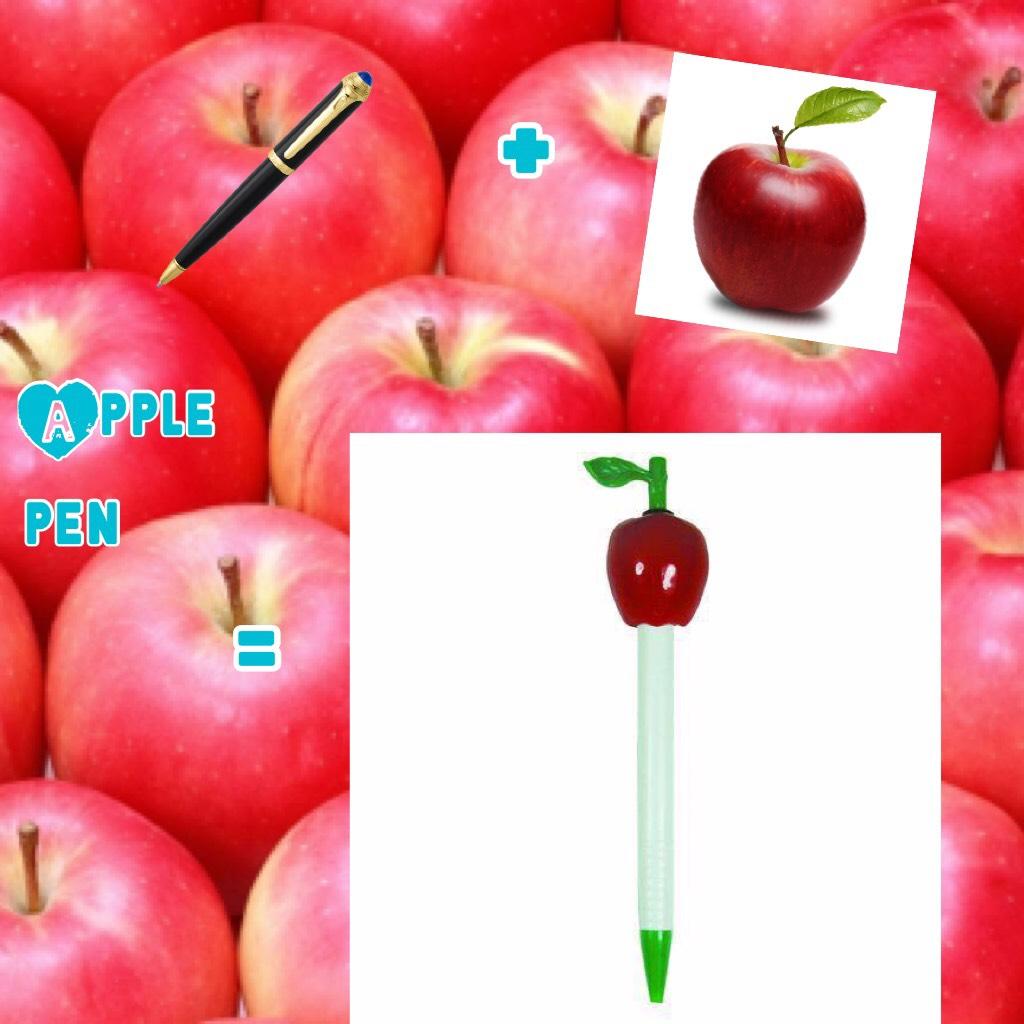 Apple + pen = apple pen