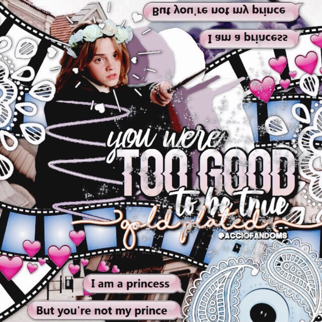 Turns out I had a half finished collage which I got to finish! I'm home for the weekend but I'm once again gone and inactive for the week after tomorrow😅💞a collab with @xoxo_fandom_sass is coming up😆💕