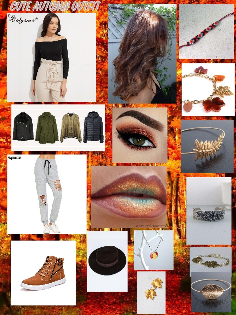 Cute autumn outfit