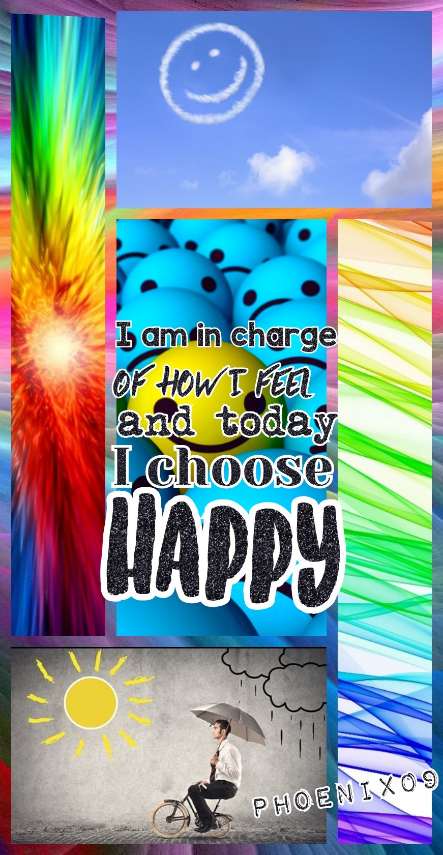 Always choose optimism Question of the Day: What makes you happy?