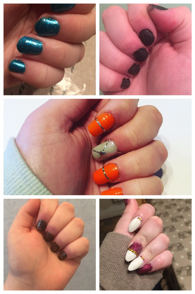 ✨💚💙Tap💙💚✨  Comment down below which design you like the most.   P.S sorry my hand looks gross in these photos
