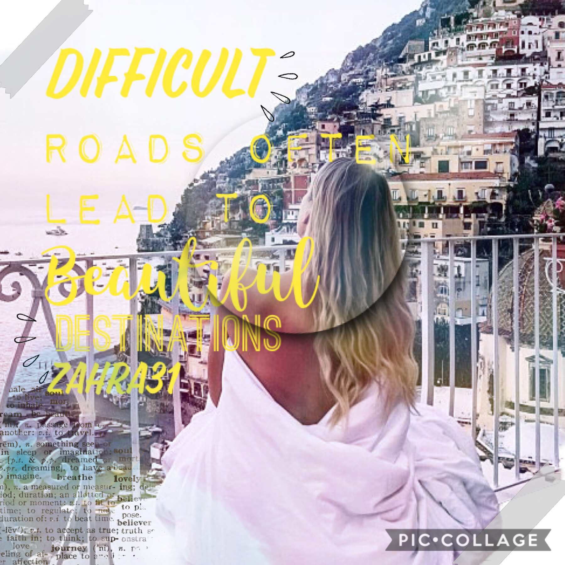 ✨Difficult roads often lead to beautiful destinations✨ I will try to post more often guys 😆