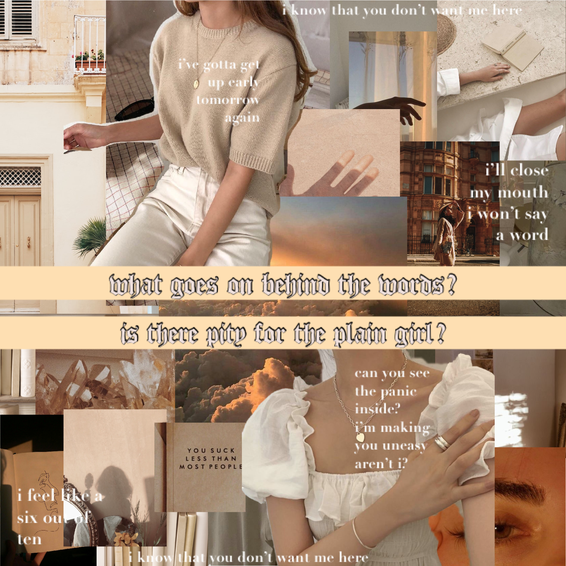 6/10 by dodie ☺️ this collage was HEAVILY inspired by -meraki ! i've been wanting to use these lyrics in a collage for a while and i finally got around to it ✌️