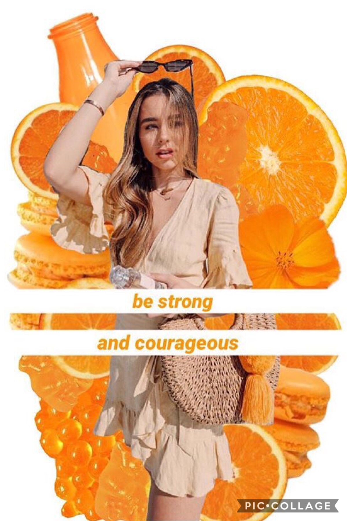 🧡TAPPY TAPPY MAKE ME HAPPY!🧡  Hi loves!! Sorry this is super simple, I'm working on super fun, cool, creative collages for you guys so stay tuned! Truly, Sierra is lie, THE QUEEN!!! 💓💓💓  Do you get a lot of homework?? 📚📚 Eh..a little form each subject. 😊
