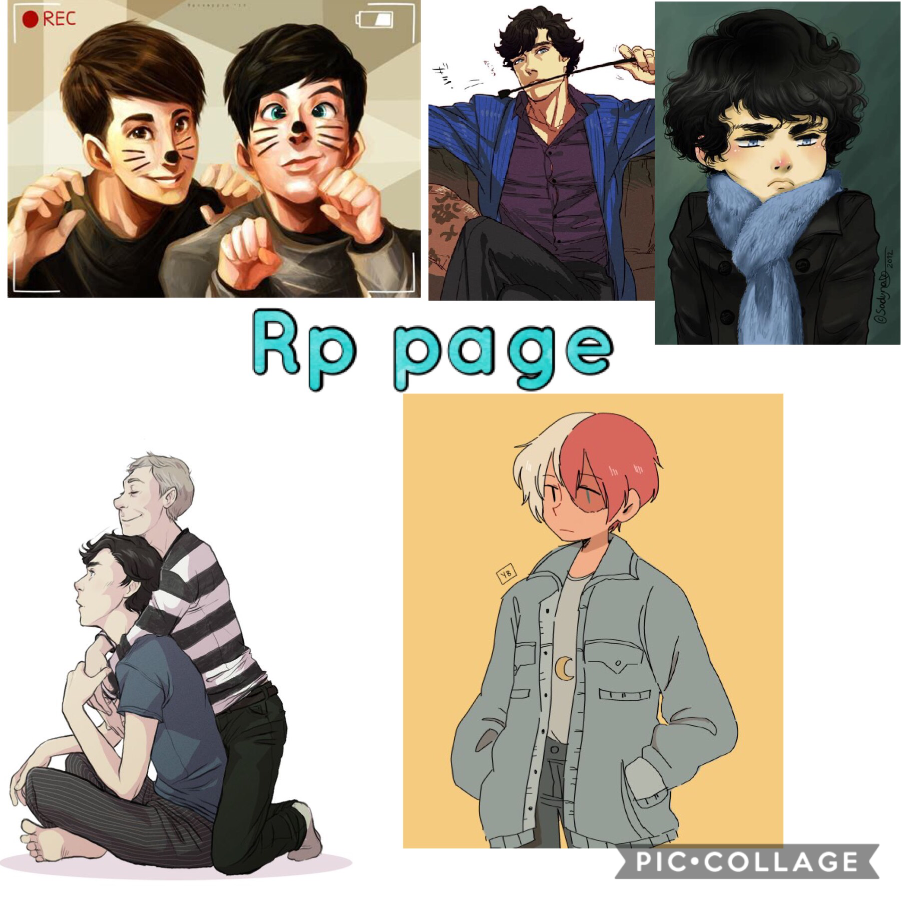 Rp page