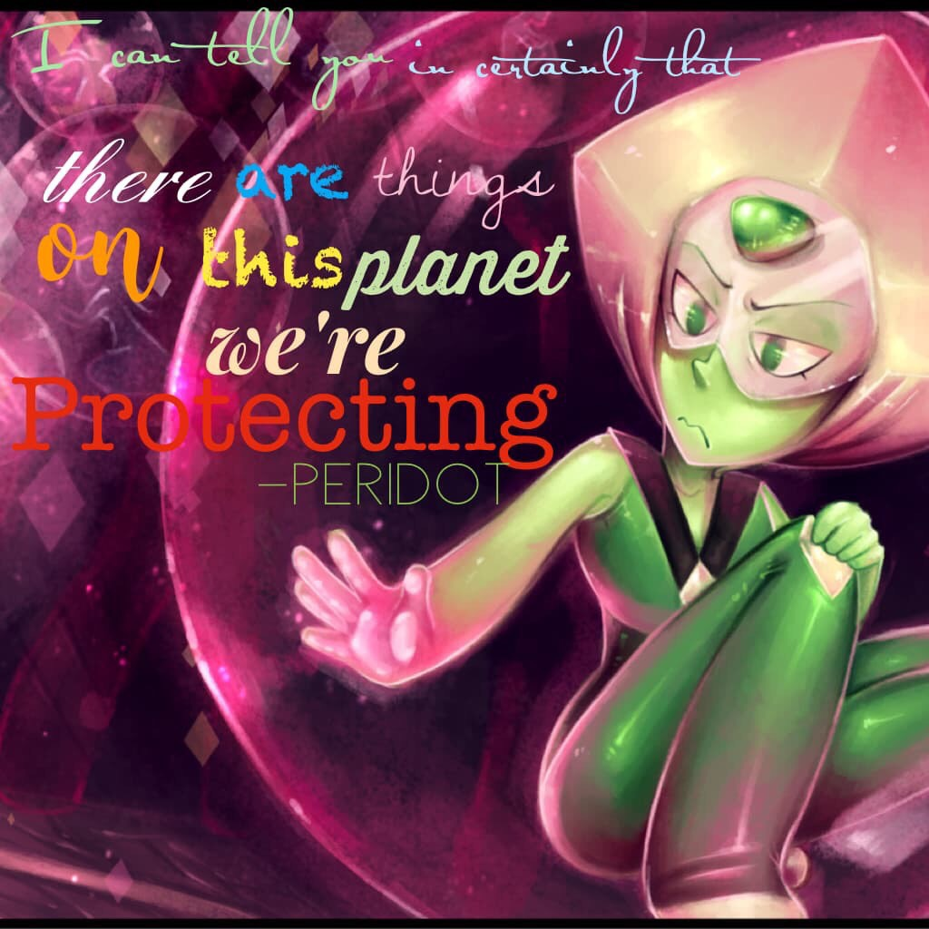 Quote by: Peridot
