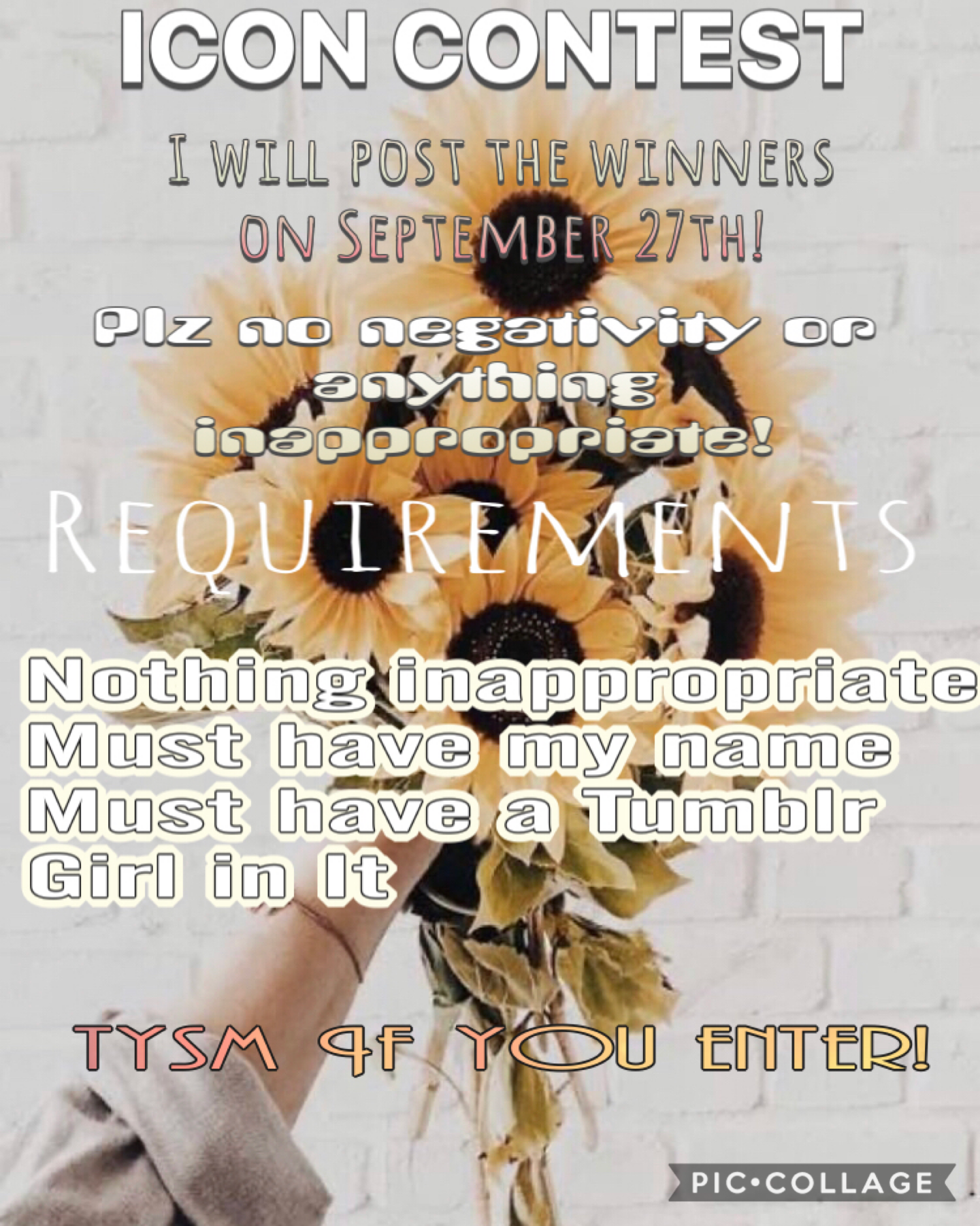 🌻💛Tap💛🌻                                                     Tysm if you enter! I will post the prizes soon!💕