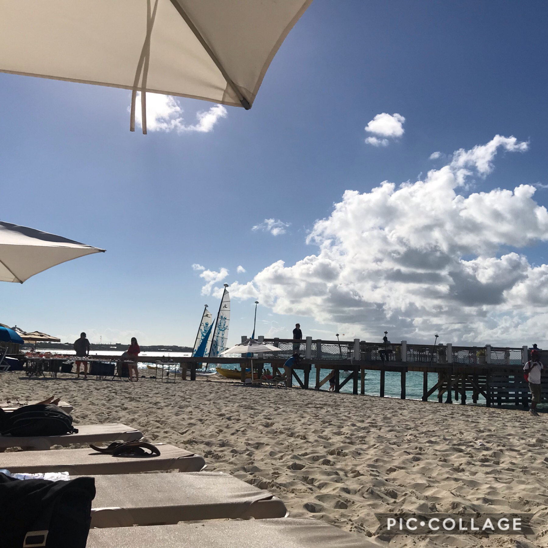 Yeah so we finally got here but low key kinda dissappointed. Been here twice and it was FLAWLESS. Now the food is meh, all the restaurants r full, the beach is kinda dirty. Ehhh im lowkey sad