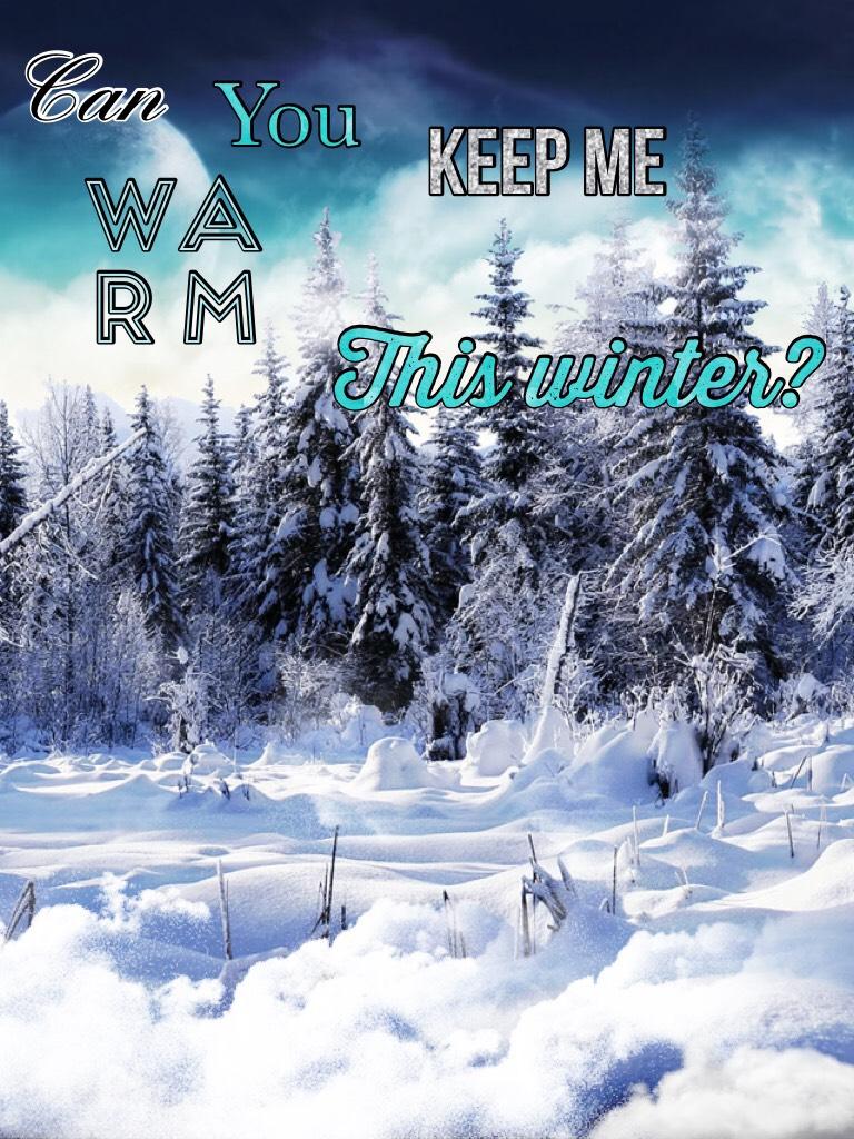 Winter wonderland ❄️☃️