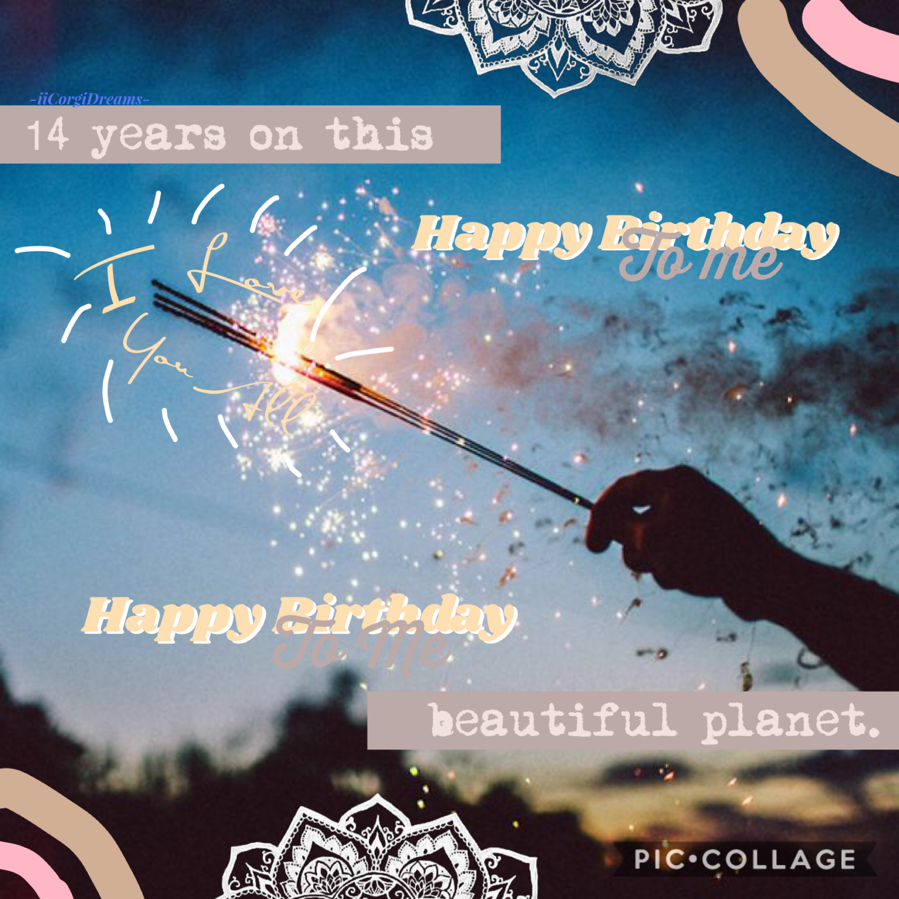🎉 Tap 🎉 I hope you guys like this, lol, i threw it together.  QOTC: How far away is your birthday?  AOTC: It's today! 🥳 gUeSs WhOs BiRtHdAy iS tOmOrRoW?  expect a collage tomorrow you know who you are 😉