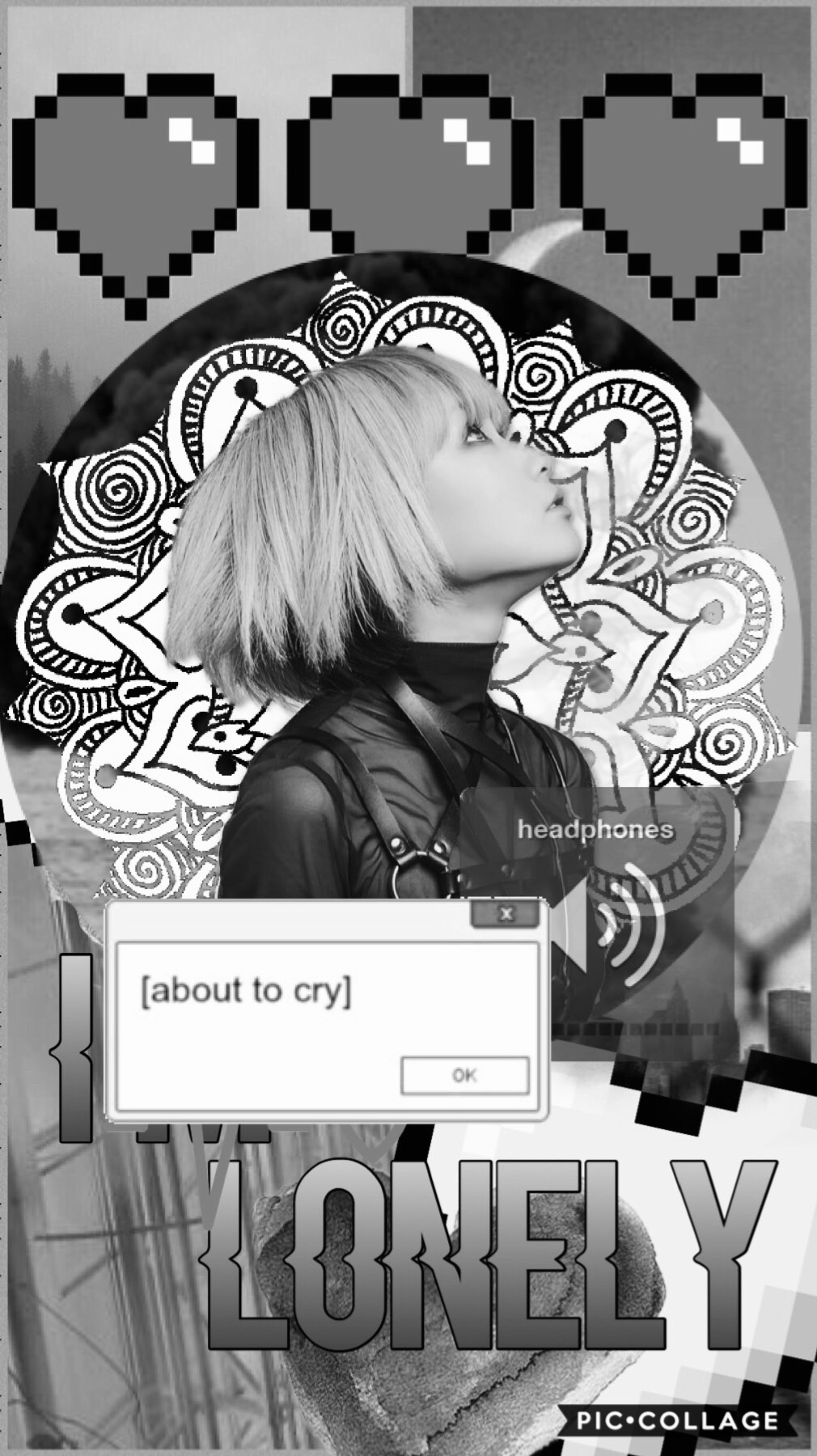 Tap🖤 Okay so REOL is my current favorite artist and I have been listening to all her songs nonstop and I had to make this edit!  I'm so sorry for not being as active but school and my spiraling has prevented that sorry