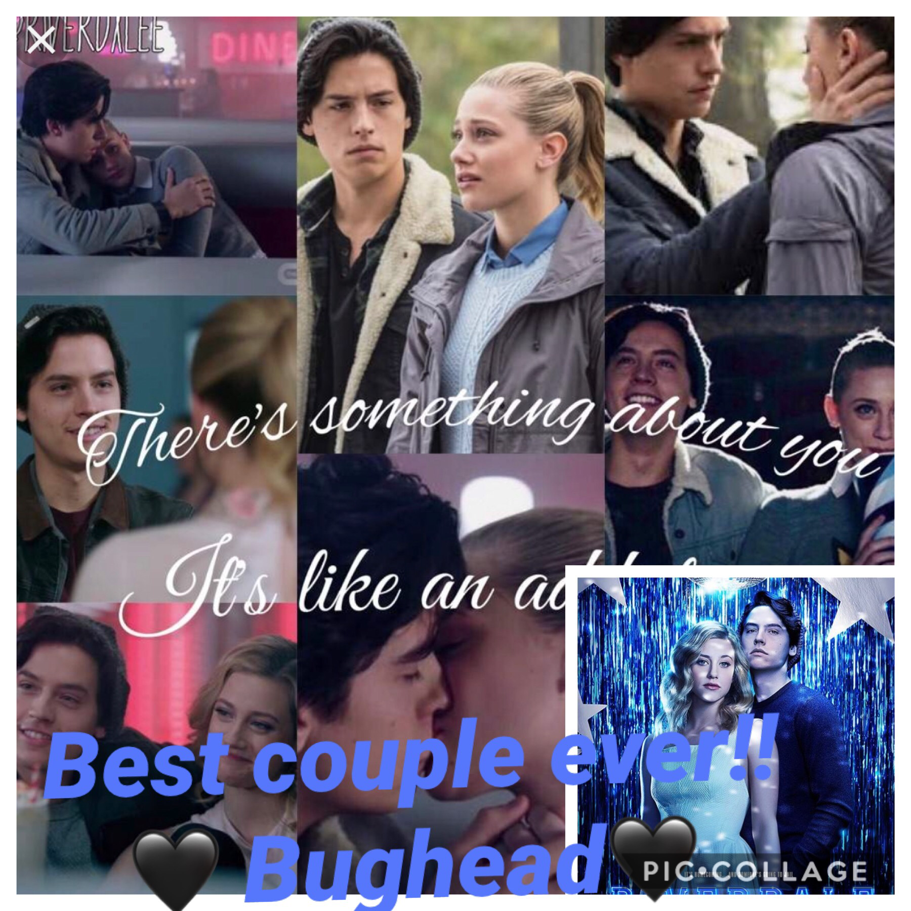 There are the cutest couple ever like if agree🖤🖤🖤 They are dating in real life if u people didn't know!!! GO TEAM BUGHEAD!!!!!!!!!!!🖤🖤🖤🖤🖤