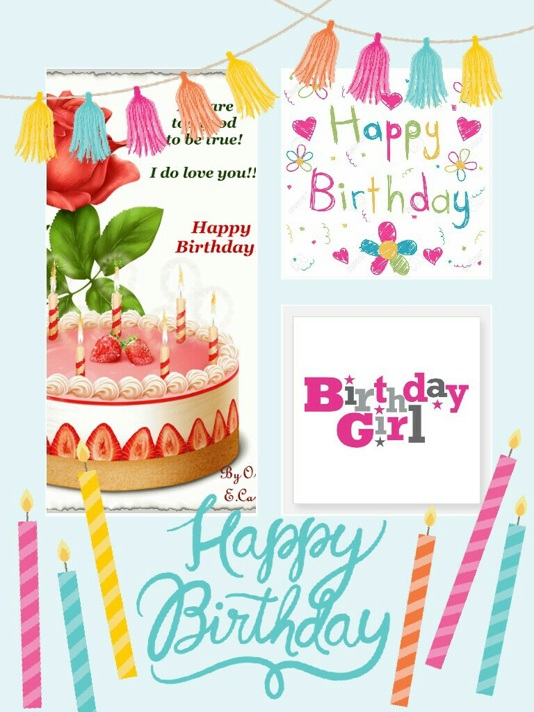 Birthday Girl Template Feel free to add stuff!
