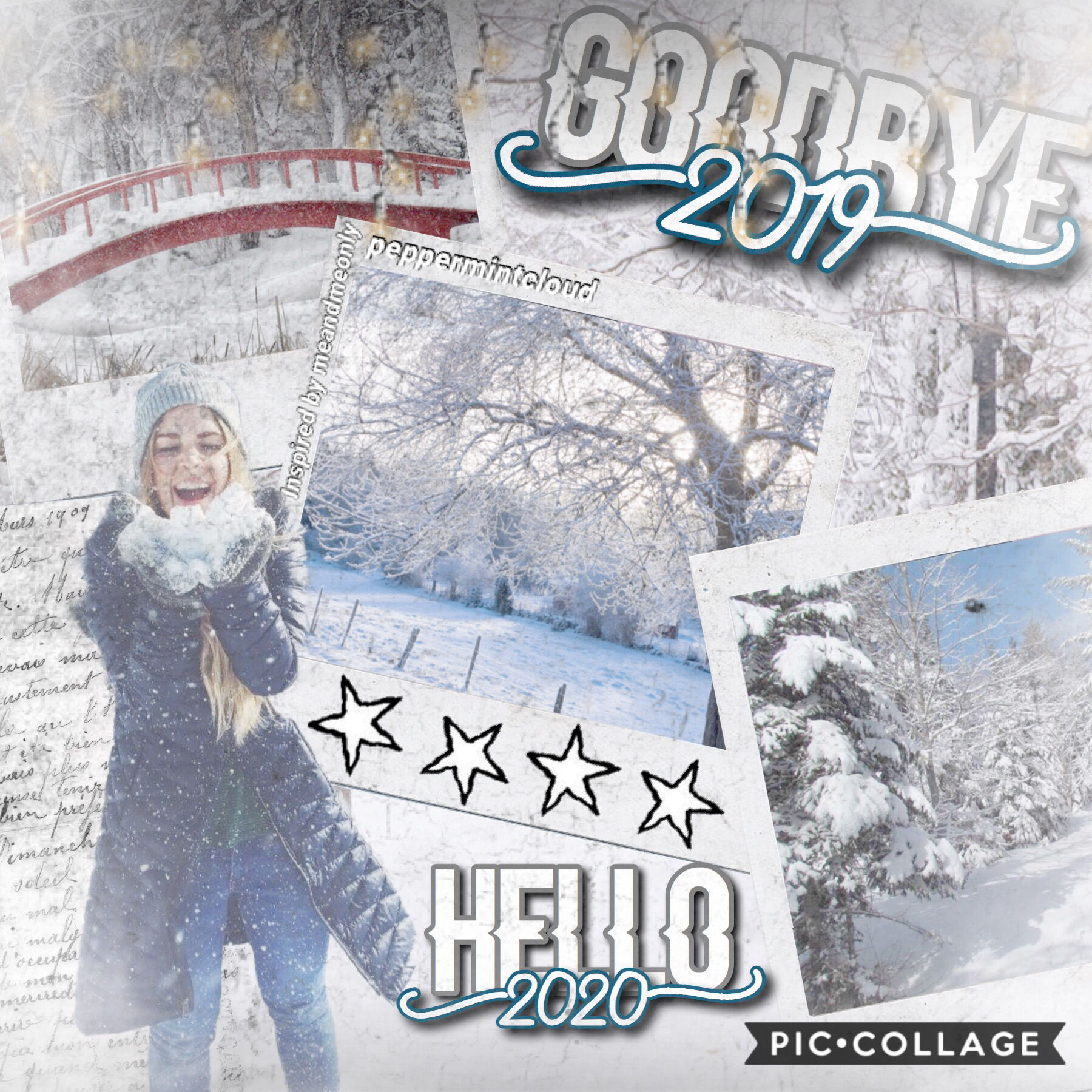 This collage was inspired by Meandmeonly! ALSO CHECK REMIXES FOR A SURPRISE! (Don't judge me on it tho😂😂😂I know it's a weird surprise😂😂😂) HAAPPPPPPYYY NEWWW YEEAARRR😱😱😱😱😱🥳🥳🥳🥳🥳🥳🎉🎉🎉🎉😁😁😁😁