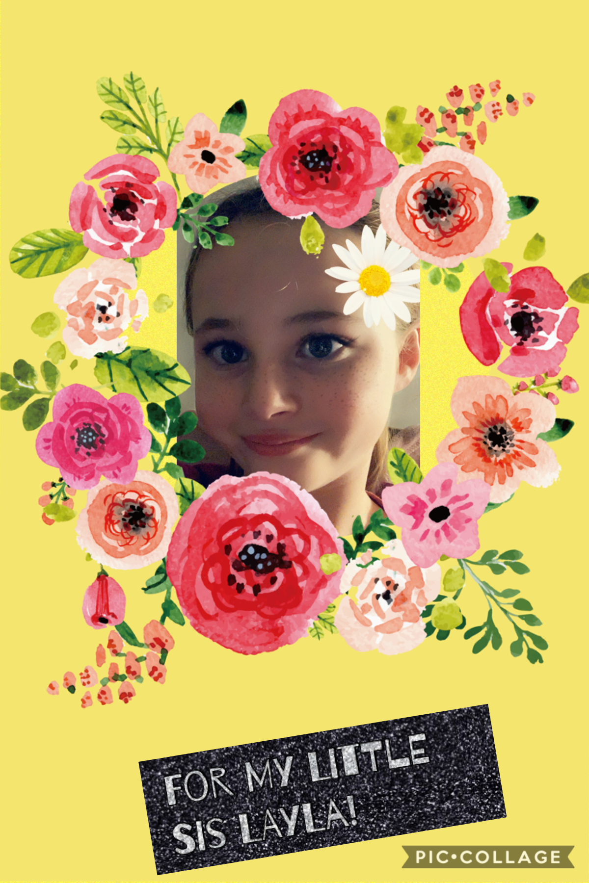 My little sis Layla