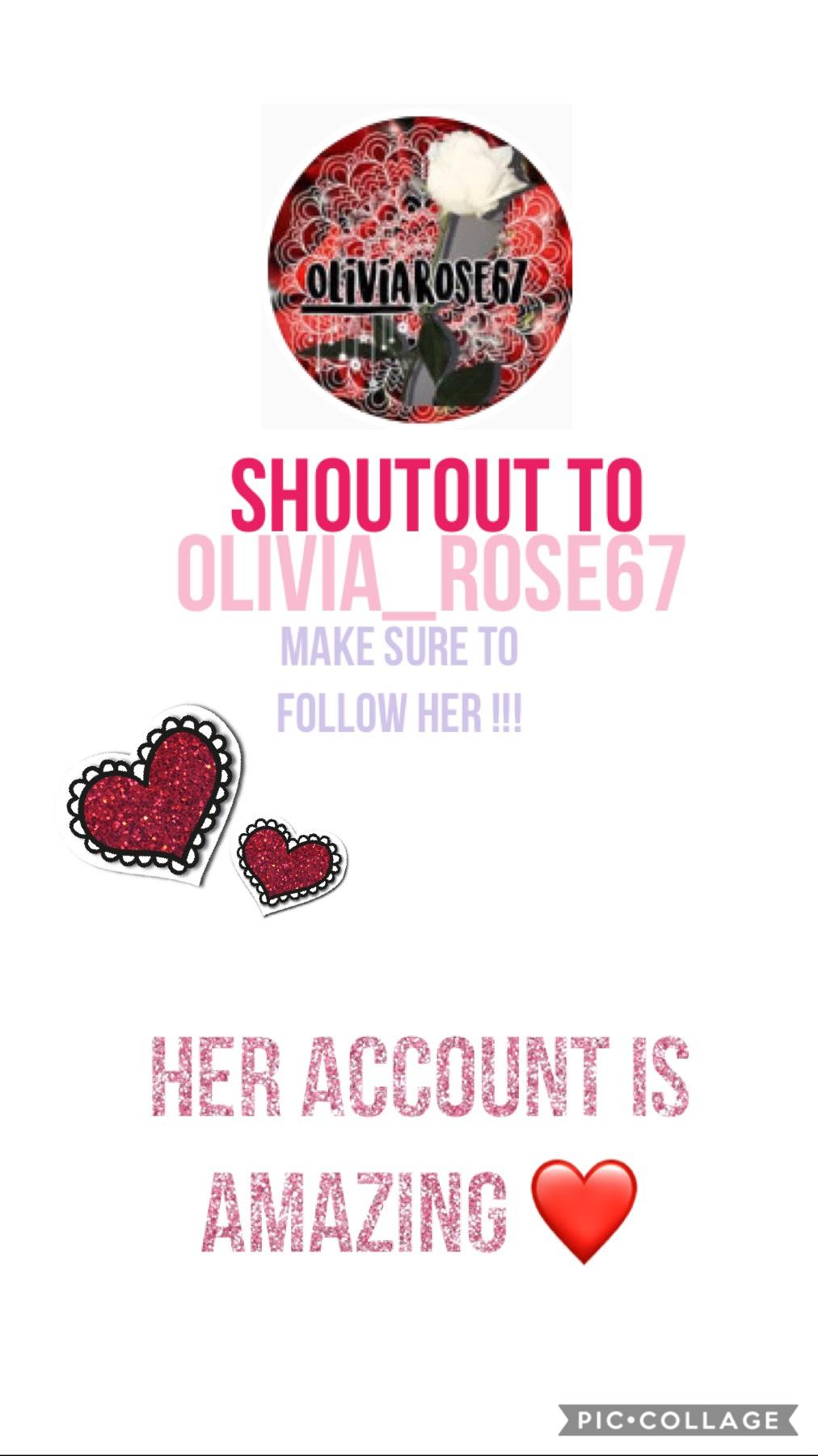 Follow her ❤️❤️❤️