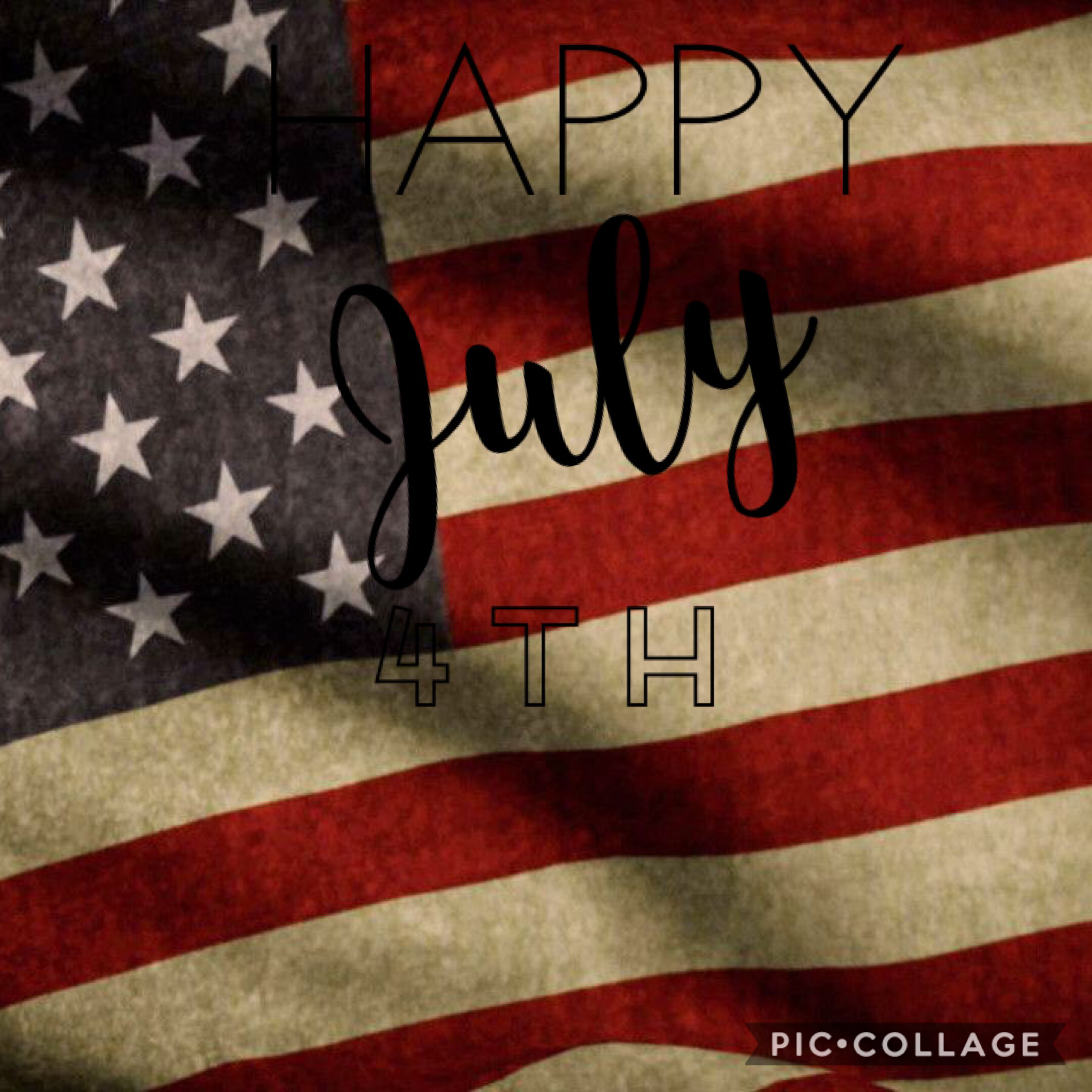 TAP    I hope you guys have a great July 4th