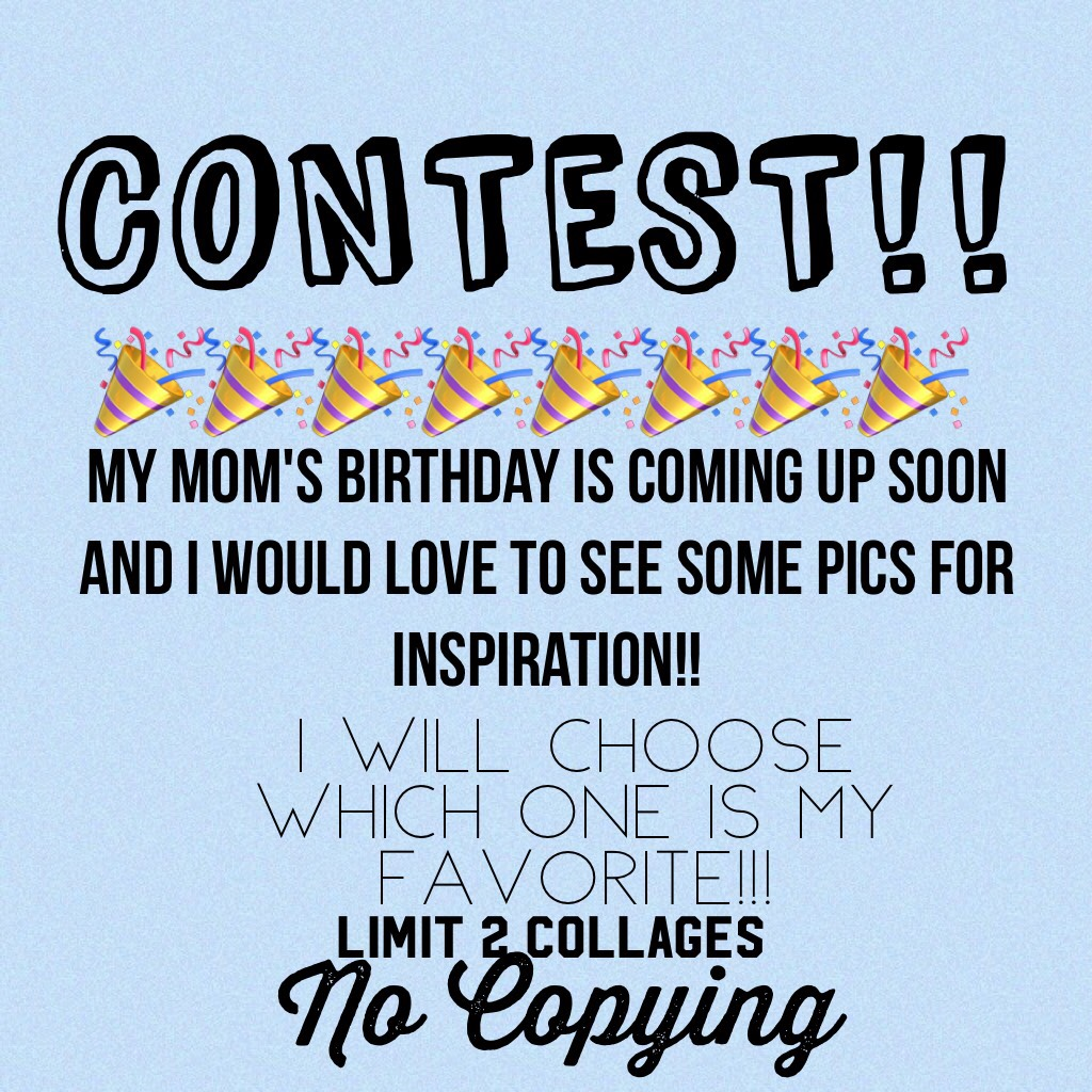 🦋TAP🦋 Comment on this pic with your collage!! The contest will end on September 30
