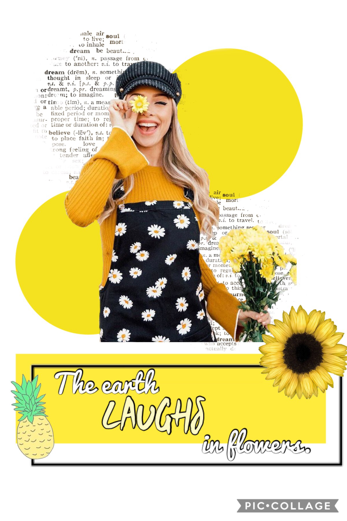 Tap! 💐 🌼 New style but only for 4-5 collages, then I will go back to my old style. Thankyou to @Becstar713 and many others for the inspiration! 💕🤙