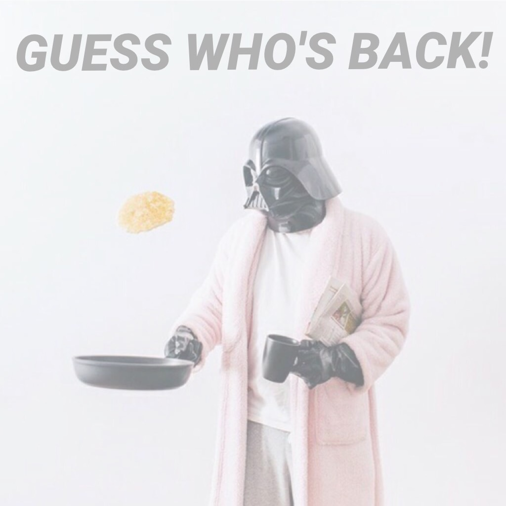 GUESS WHO'S BACK!