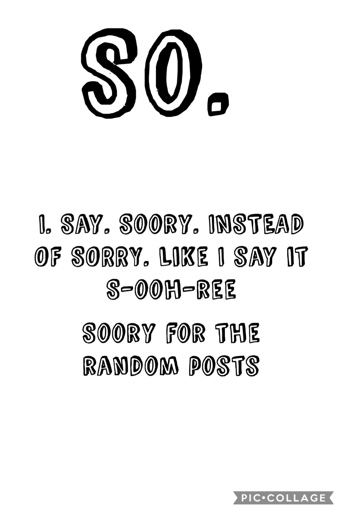Soory