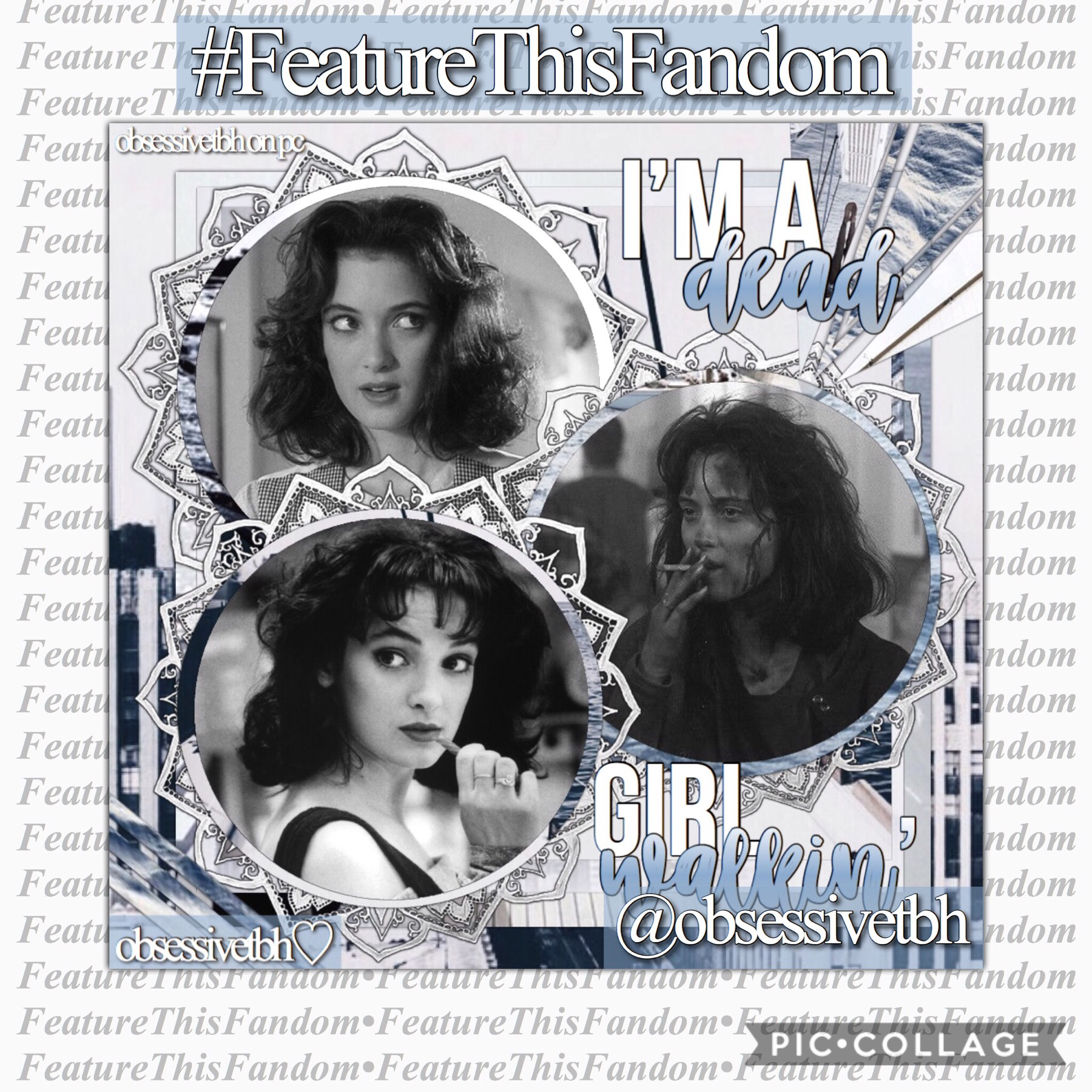 (8/8/2018) Featuring...  @obsessivetbh!!😱 I am SO happy someone asked to feature her cause I sense an icon in the making (I stan hardcore) 🙌🏼 she makes edits for pretty much everything so go give her a follow!! Check the remixes for more from this account
